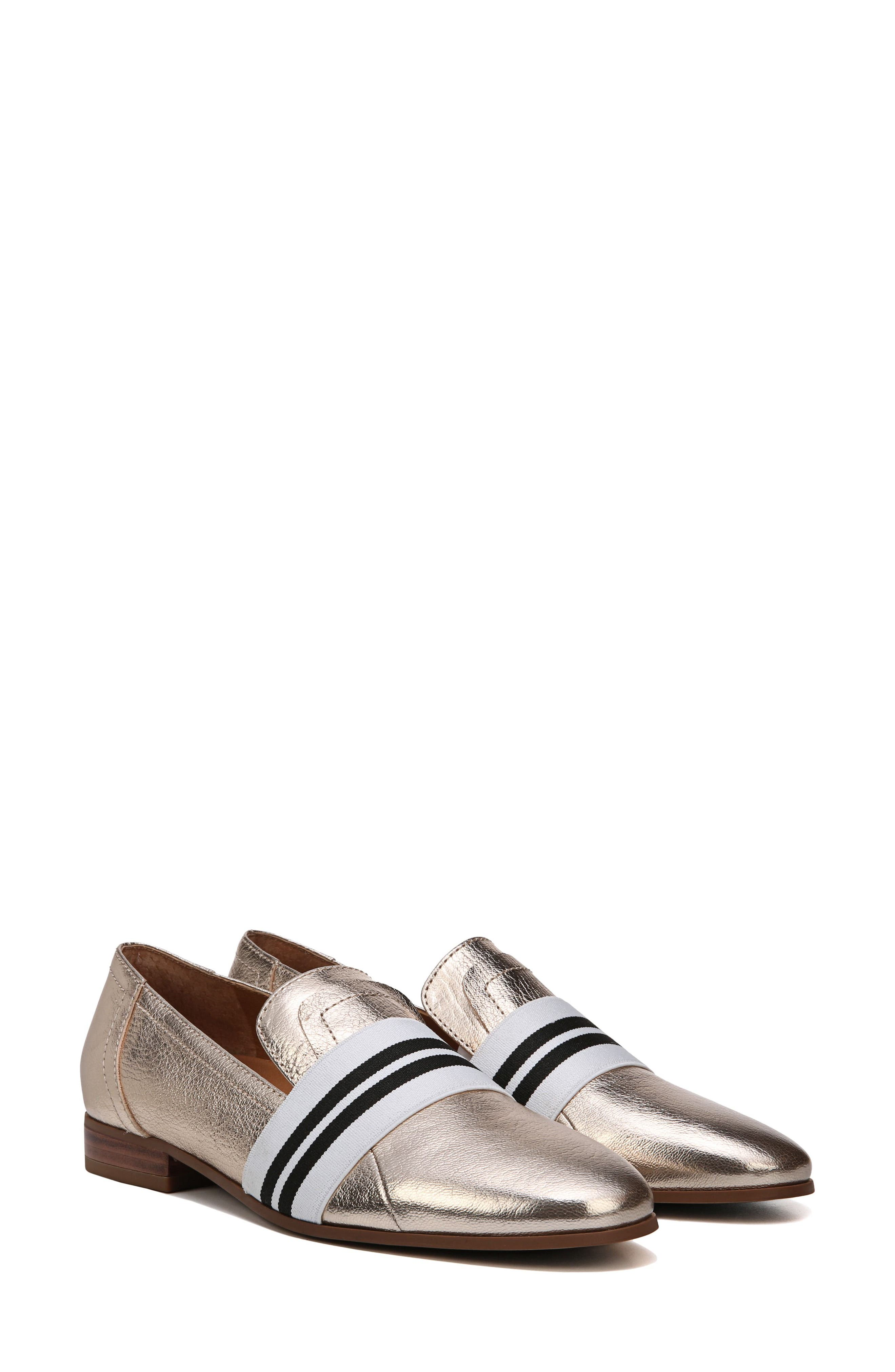 Odyssey Loafer,                             Alternate thumbnail 8, color,                             PLATINO LEATHER