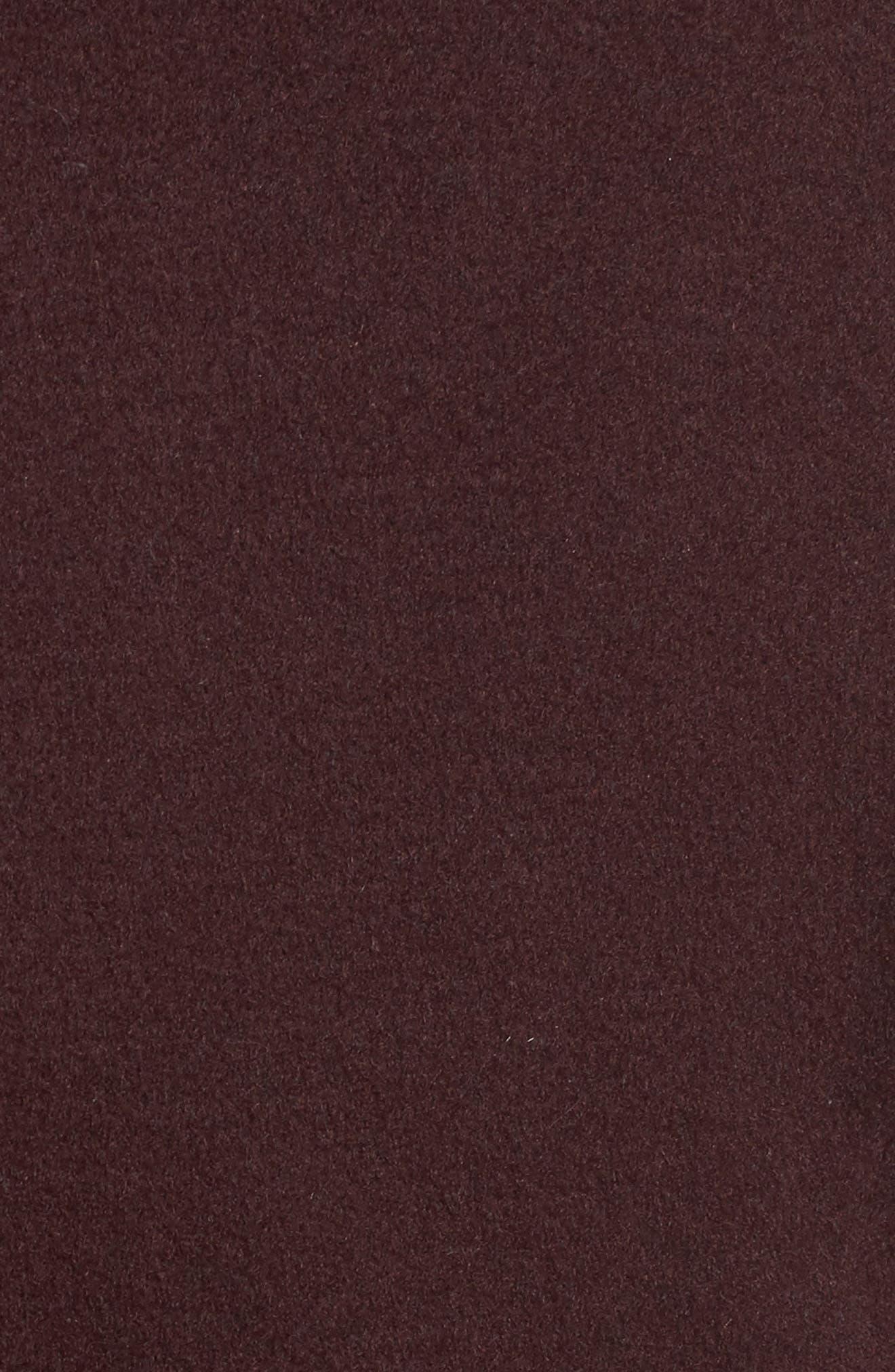 Ellie Double Face Wool Blend Wrap Coat,                             Alternate thumbnail 18, color,