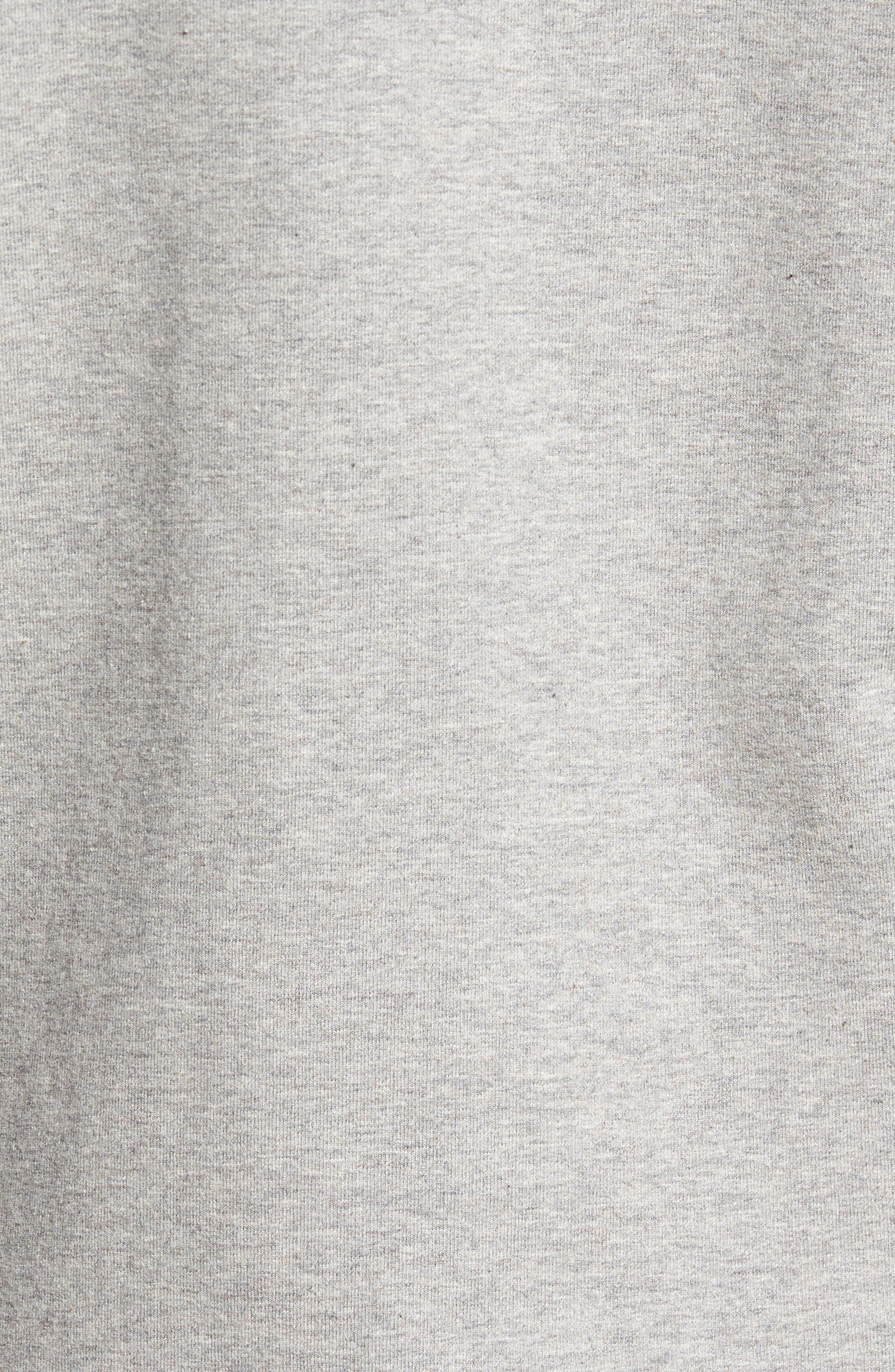 P-6 Logo Modern Fit Zip Hoodie,                             Alternate thumbnail 5, color,                             020