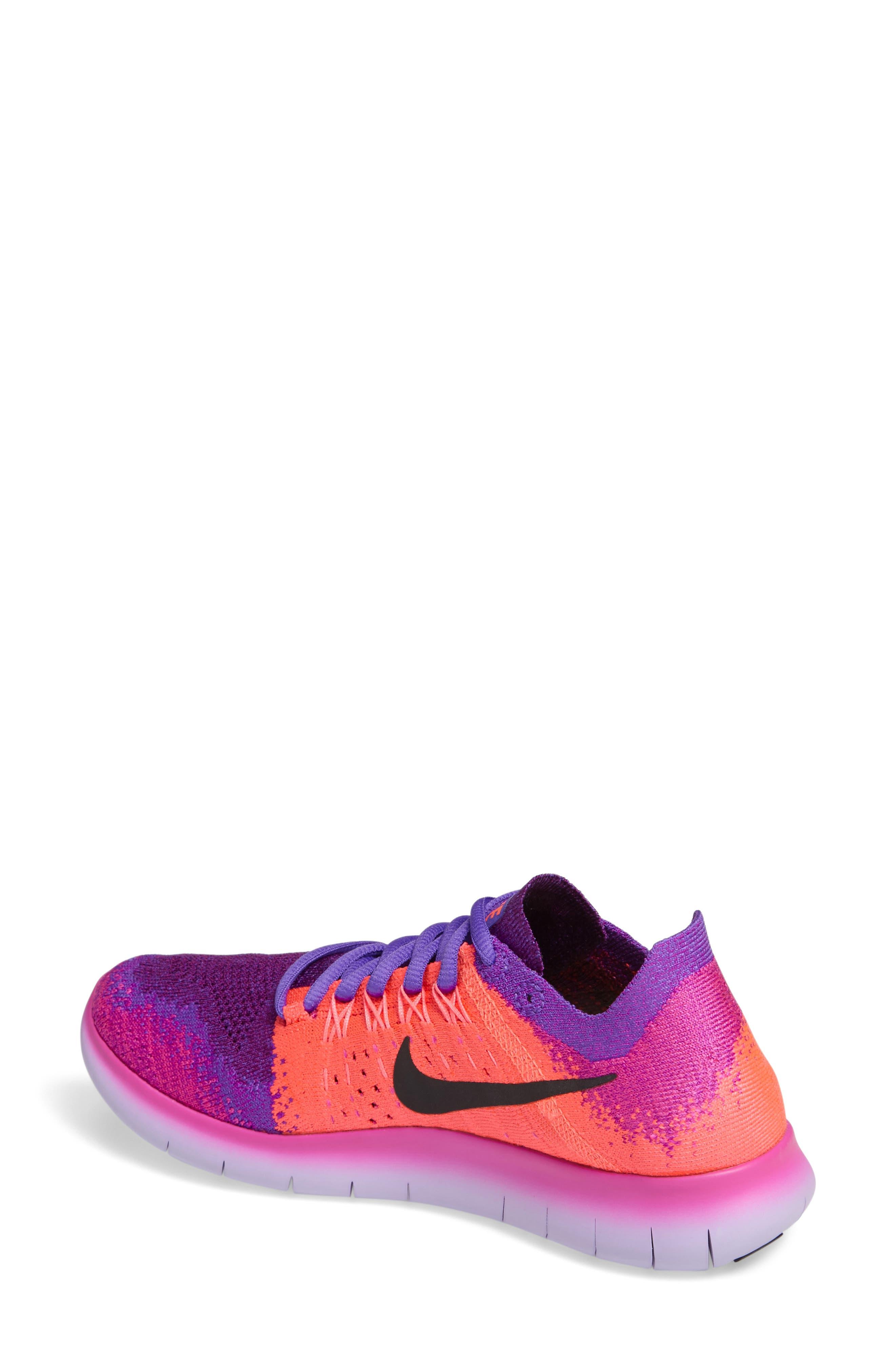 Free RN Flyknit 2 Running Shoe,                             Alternate thumbnail 6, color,