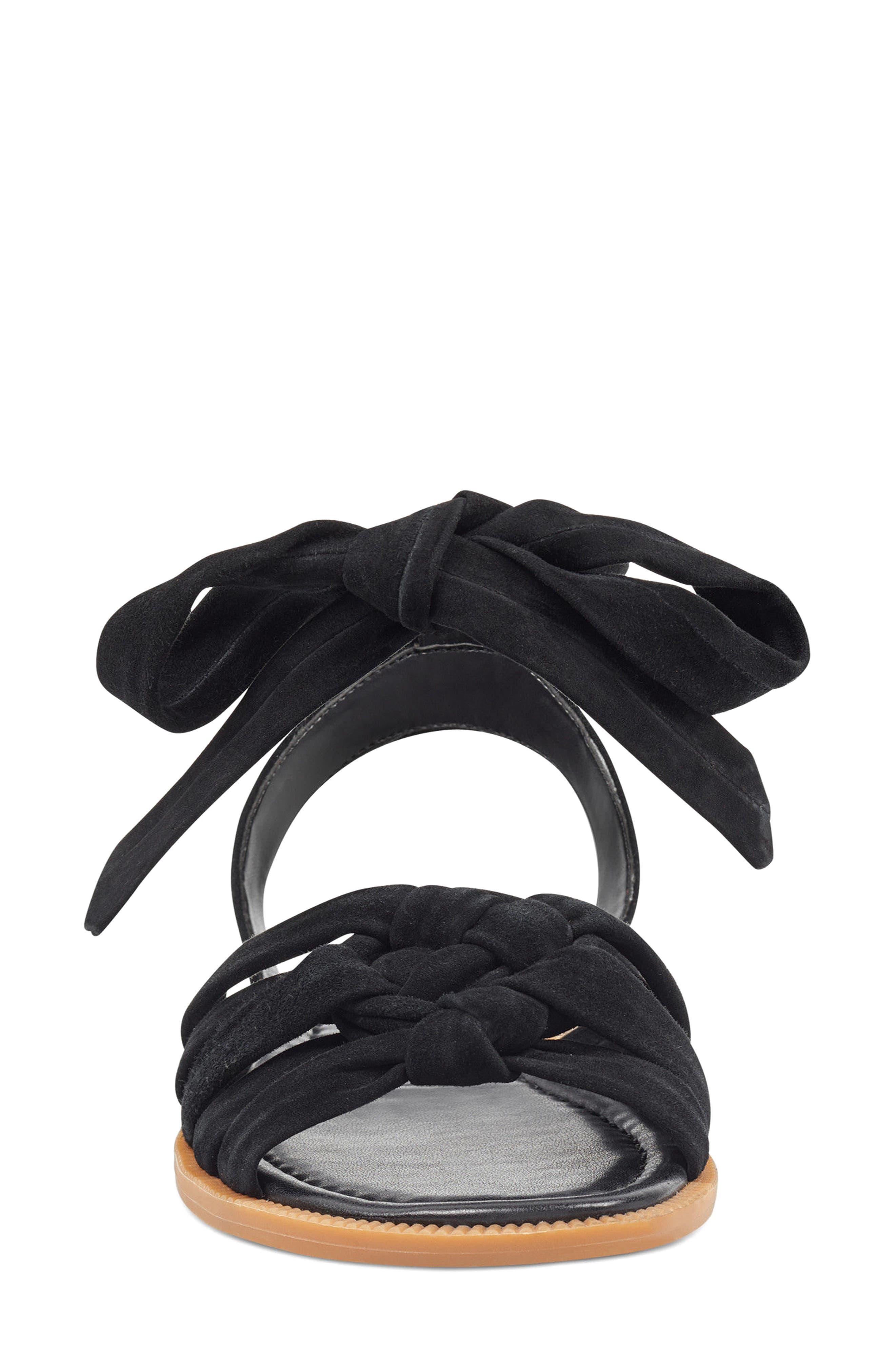 Xameera Knotted Sandal,                             Alternate thumbnail 4, color,                             002
