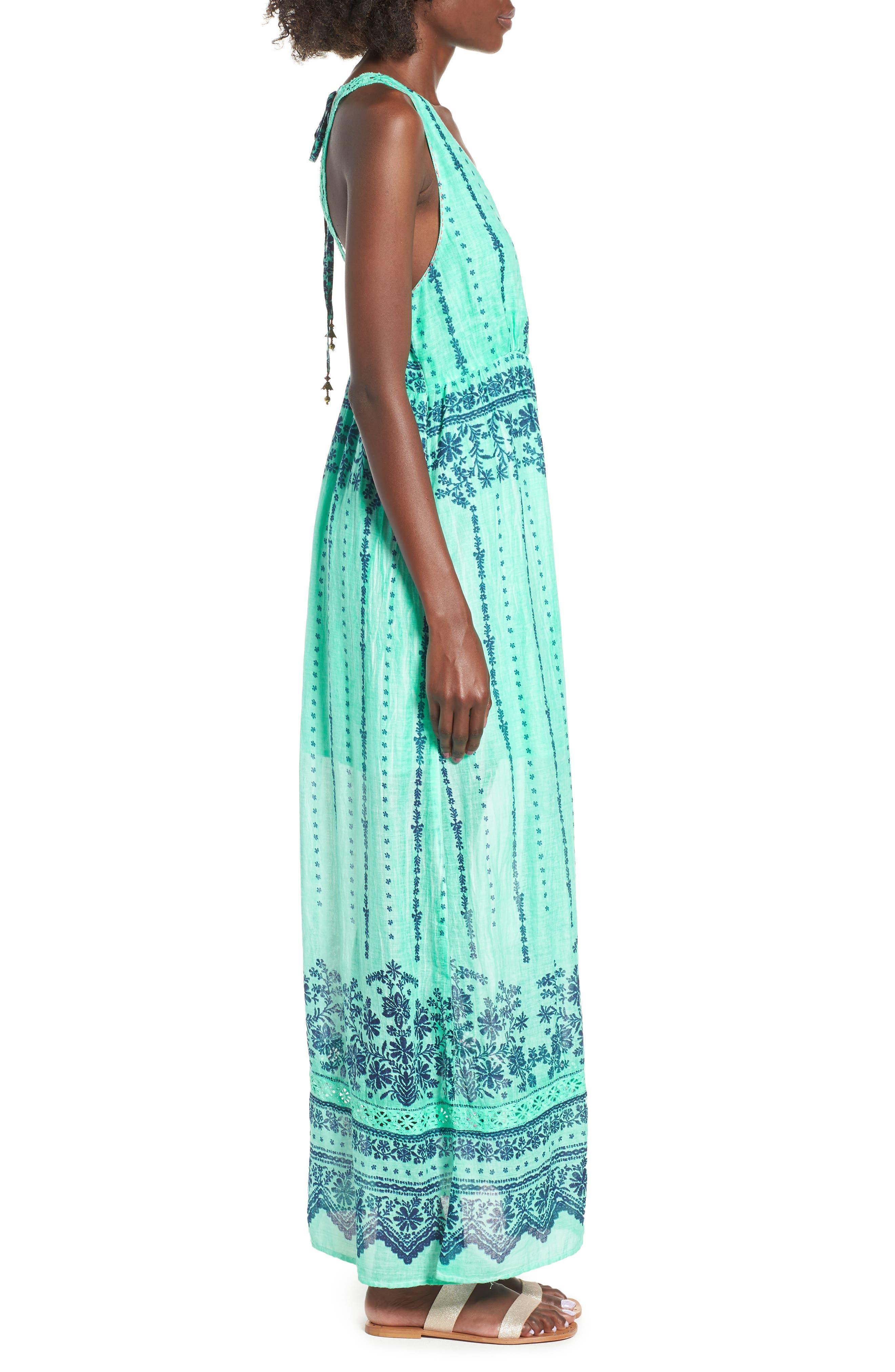La Playita Maxi Dress,                             Alternate thumbnail 3, color,                             300