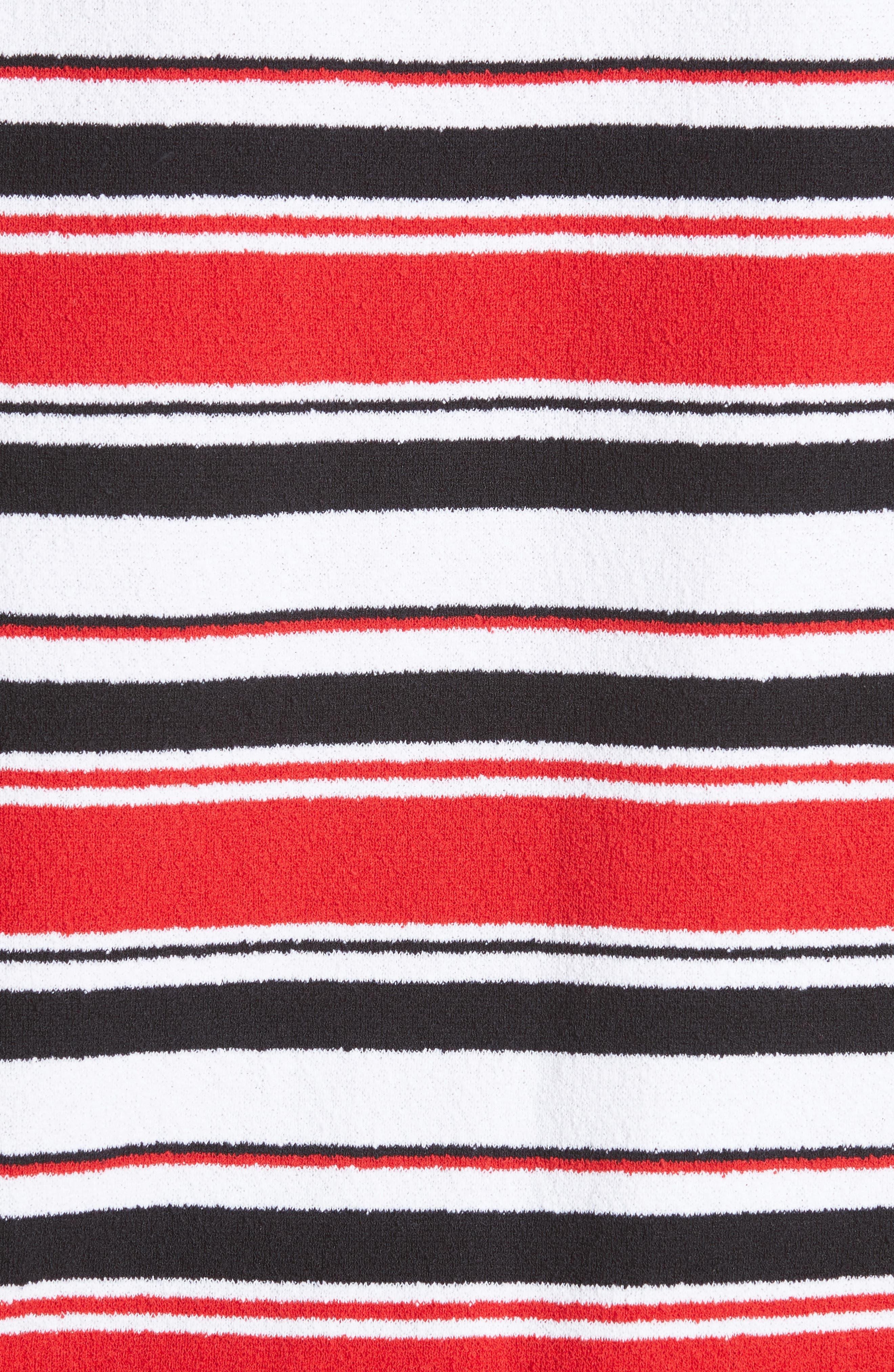 Stripe Tee,                             Alternate thumbnail 5, color,                             601