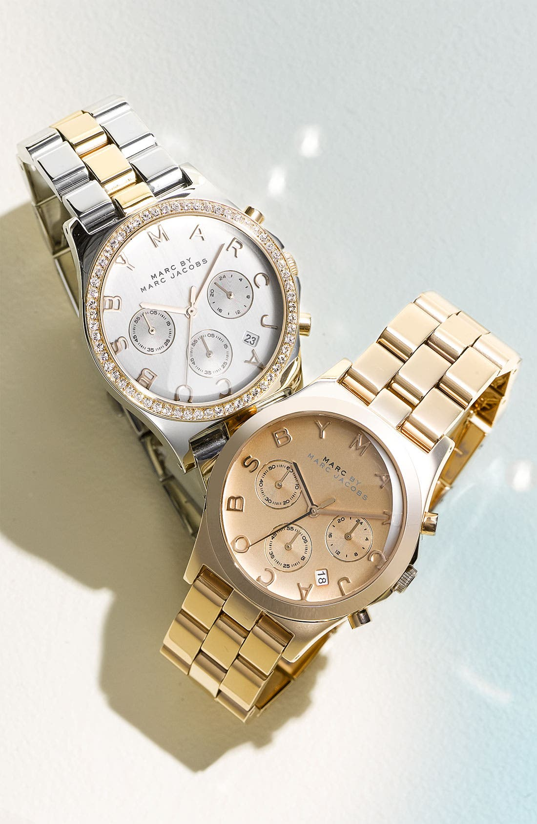 'Henry' Chronograph & Crystal Topring Watch, 40mm,                             Alternate thumbnail 3, color,                             040