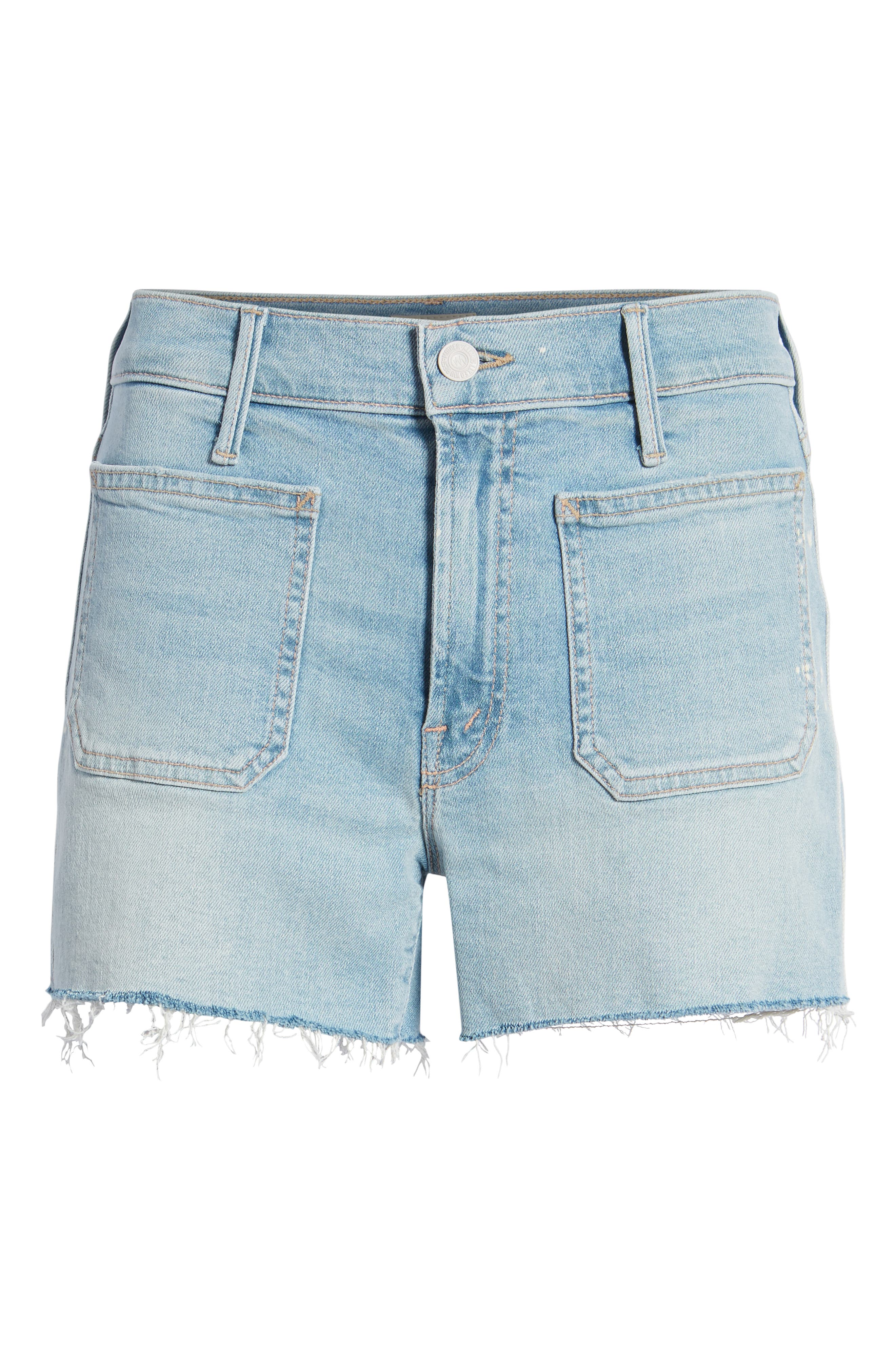 The Patchie Denim Shorts,                             Alternate thumbnail 7, color,