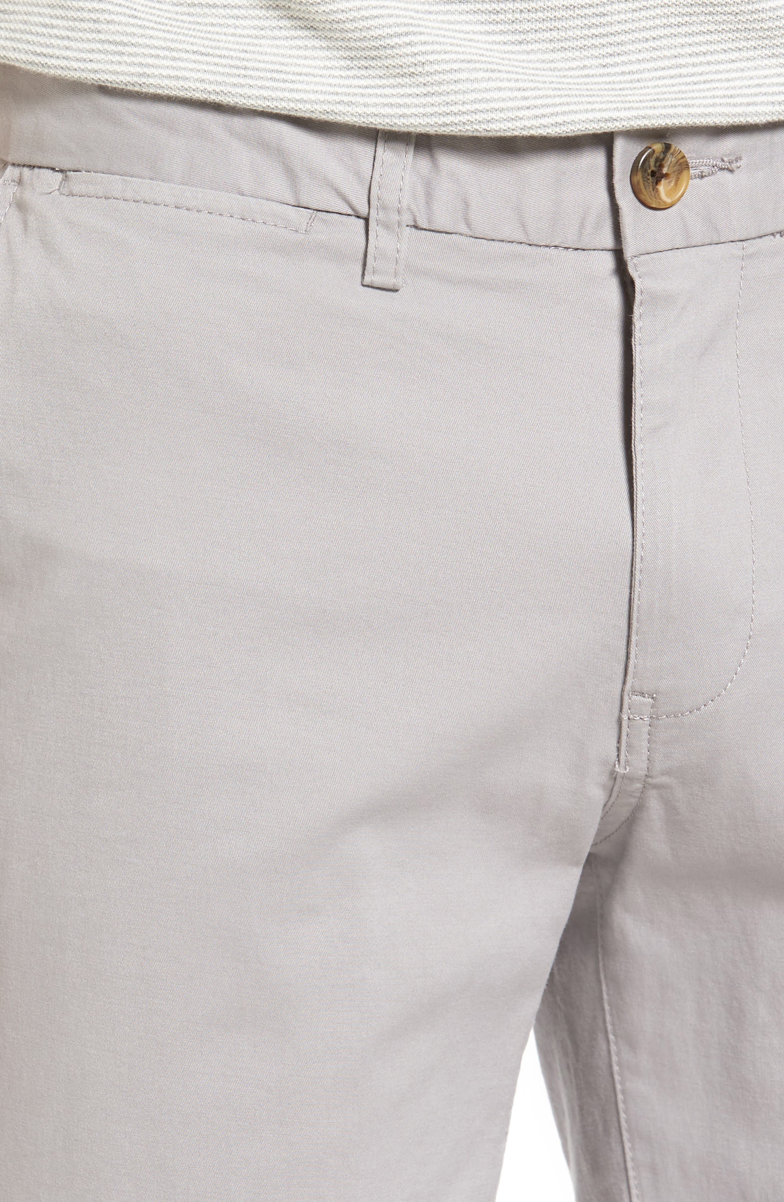 Slim Stretch Chino Shorts,                             Alternate thumbnail 4, color,                             020