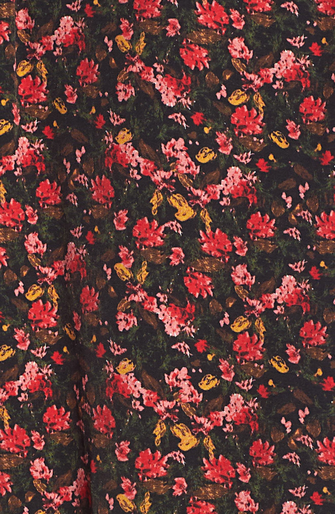 Easy Volume Top,                             Alternate thumbnail 6, color,                             RED BLAZE PAINTERLY FLORAL