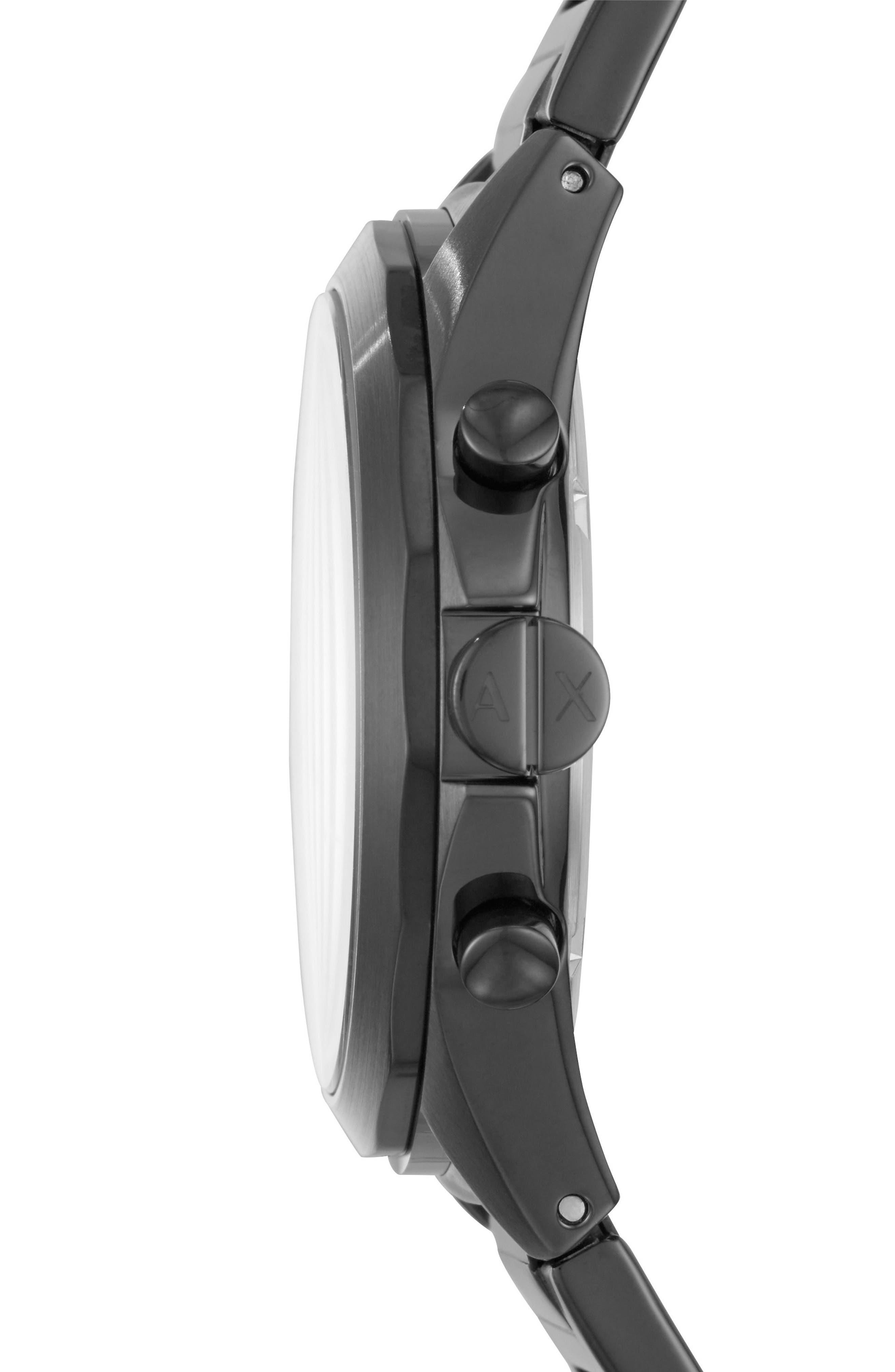 Chronograph Bracelet Watch, 44mm,                             Alternate thumbnail 2, color,                             001