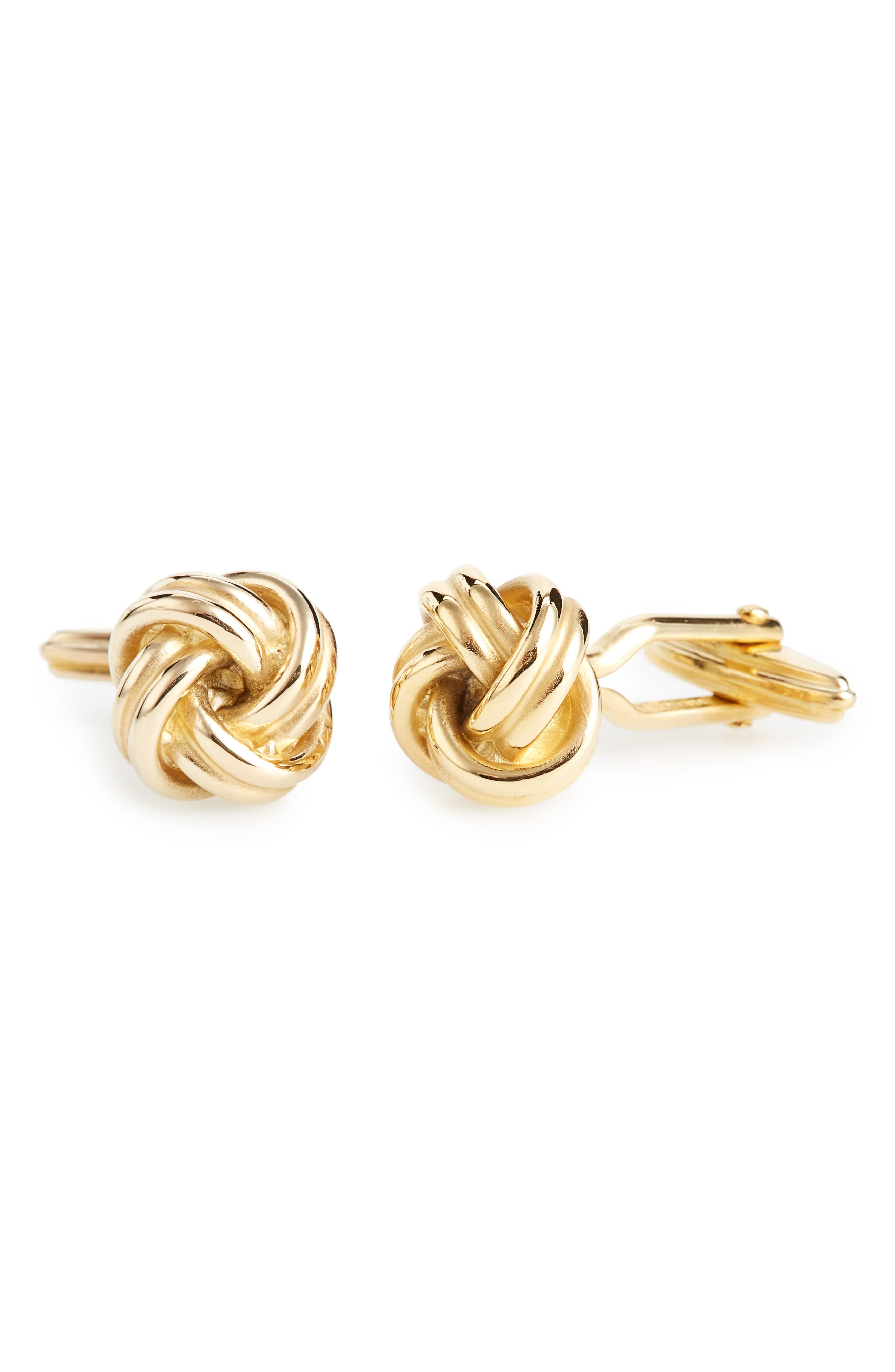 Knotted Cuff Links,                             Main thumbnail 1, color,