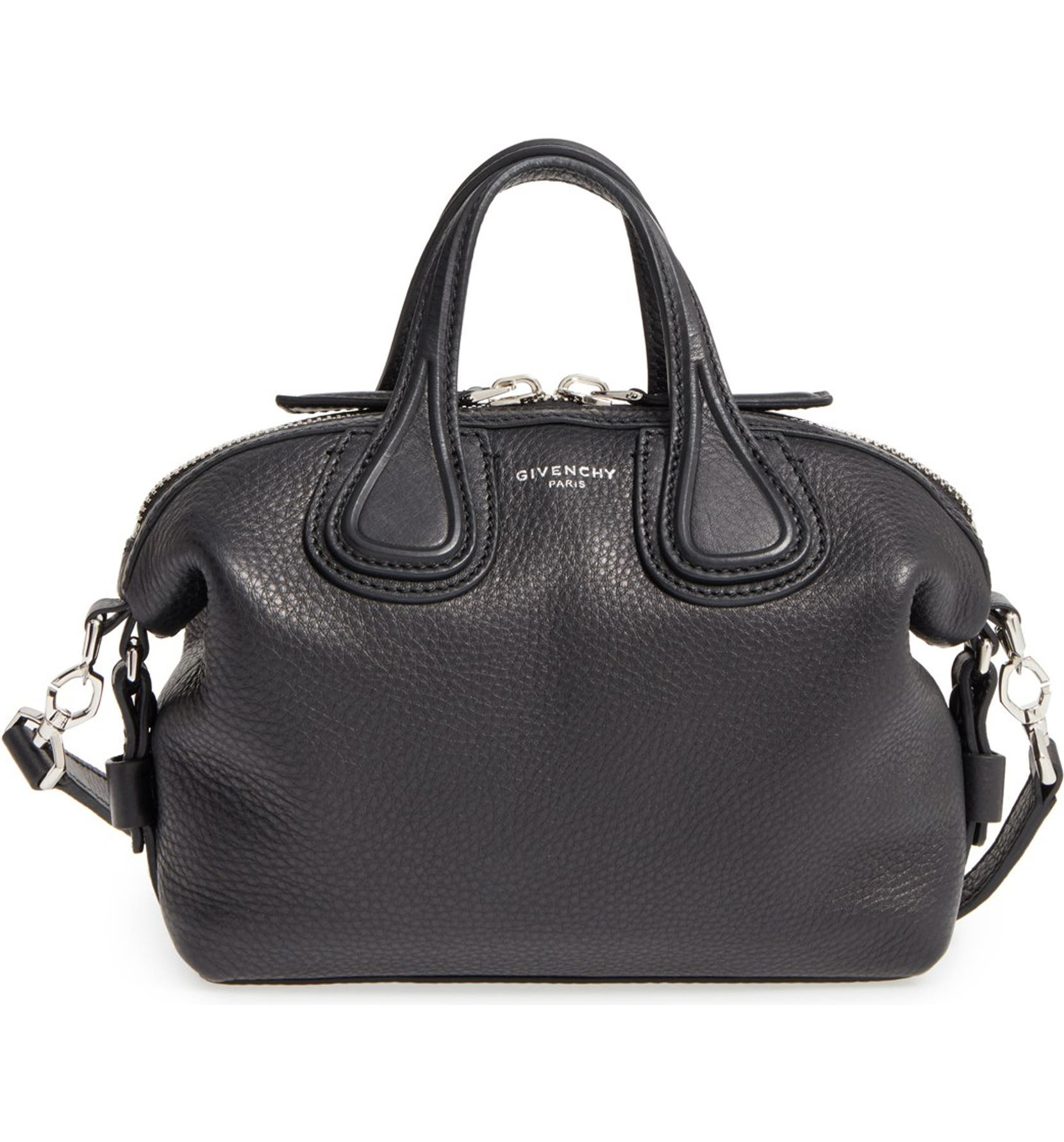 3531890944f7 Givenchy Micro Nightingale Leather Satchel