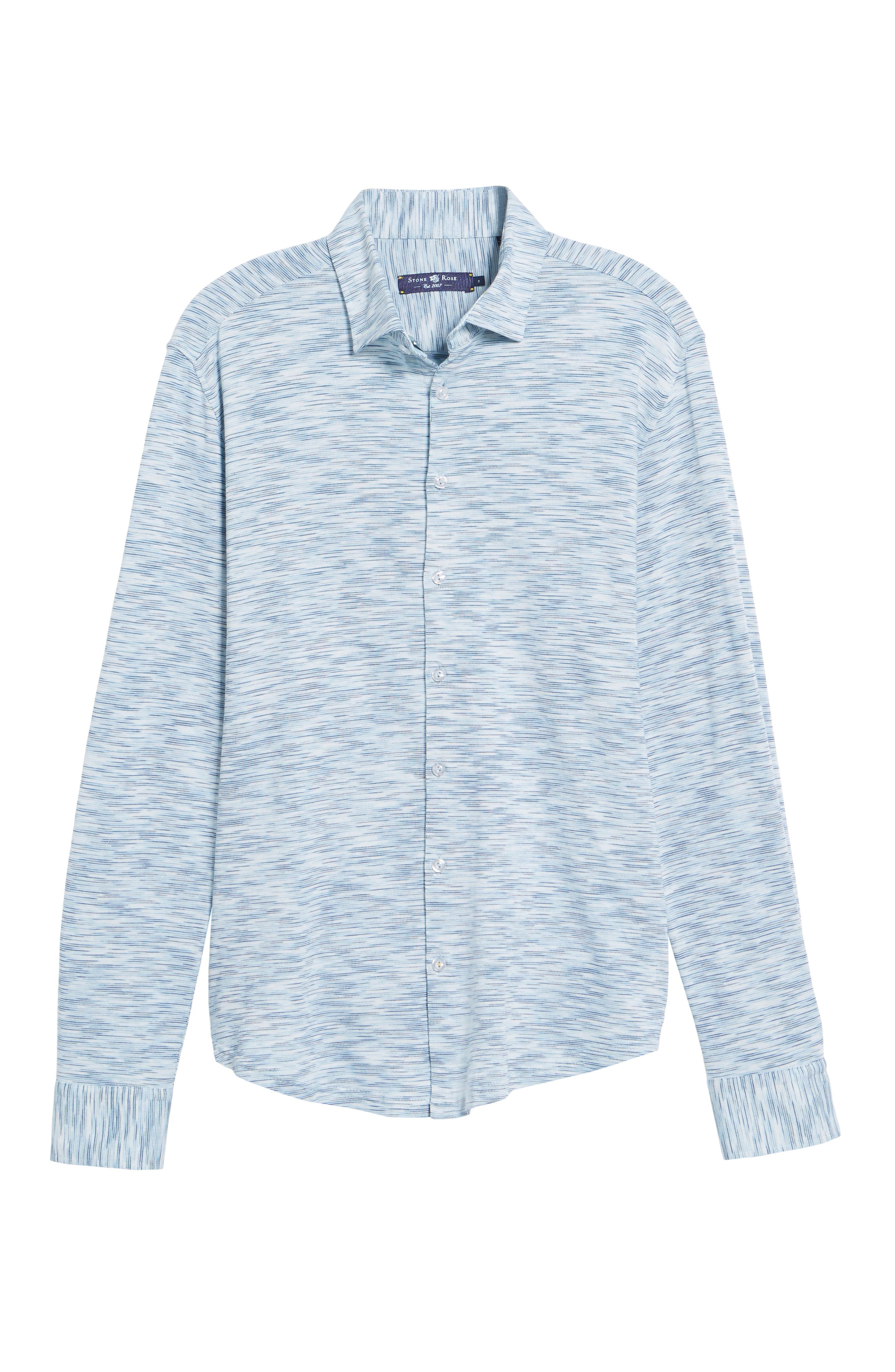 Contemporary Fit Print Sport Shirt,                             Alternate thumbnail 6, color,                             400