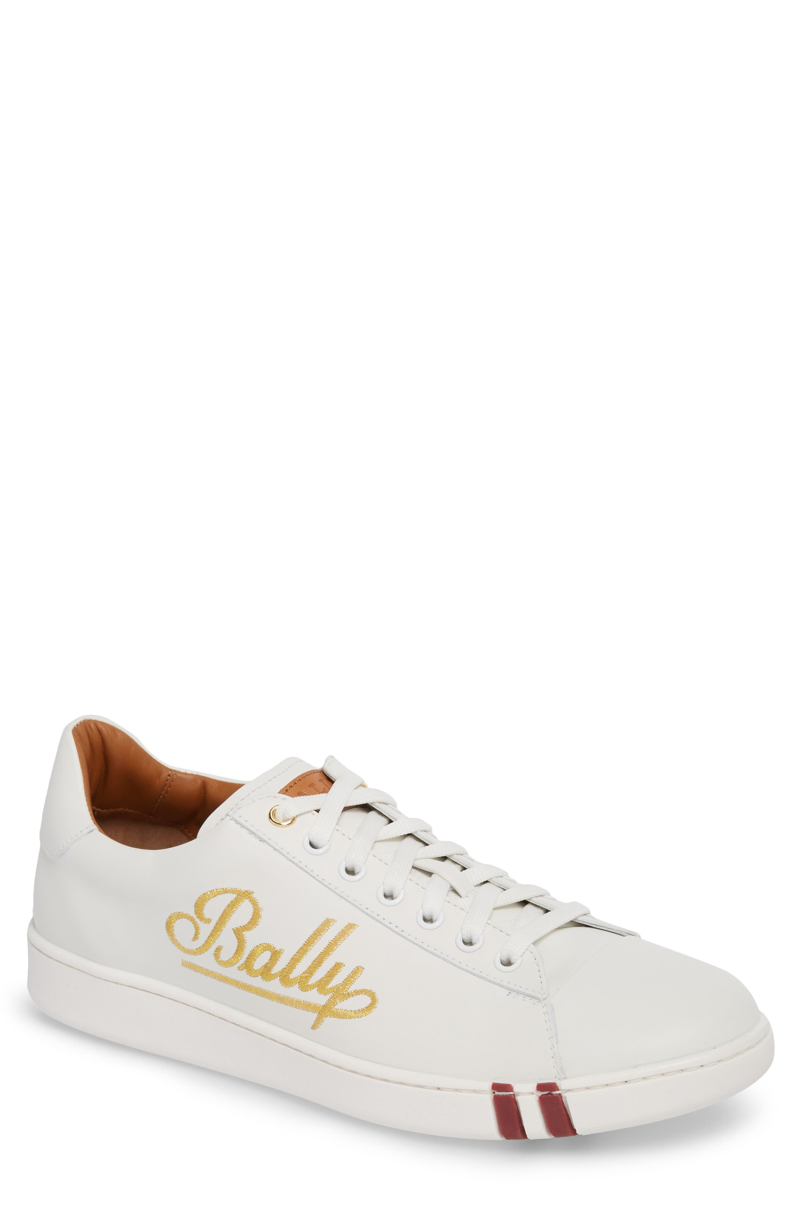 Winston Low Top Sneaker,                         Main,                         color, WHITE