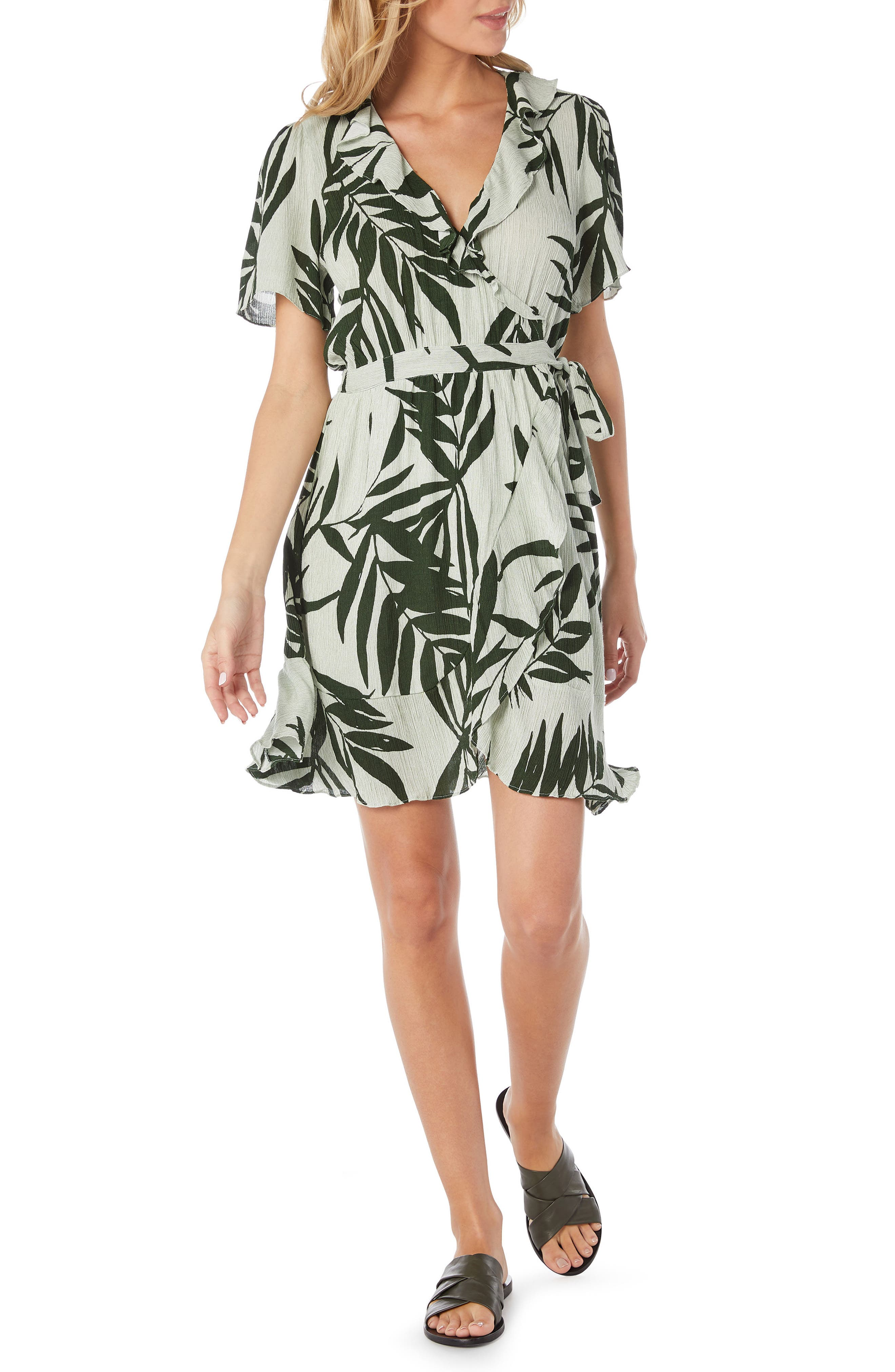 Paradiso Wrap Dress,                             Main thumbnail 1, color,