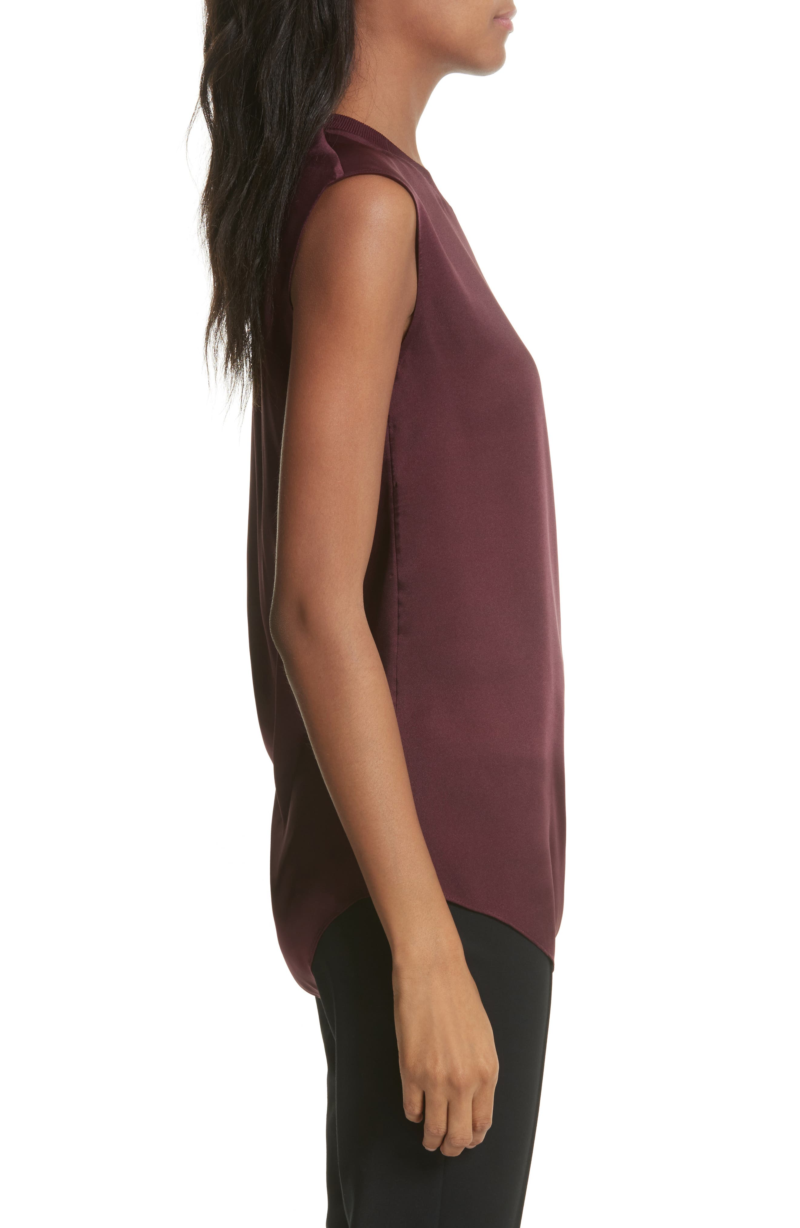 Side Ruched Top,                             Alternate thumbnail 6, color,