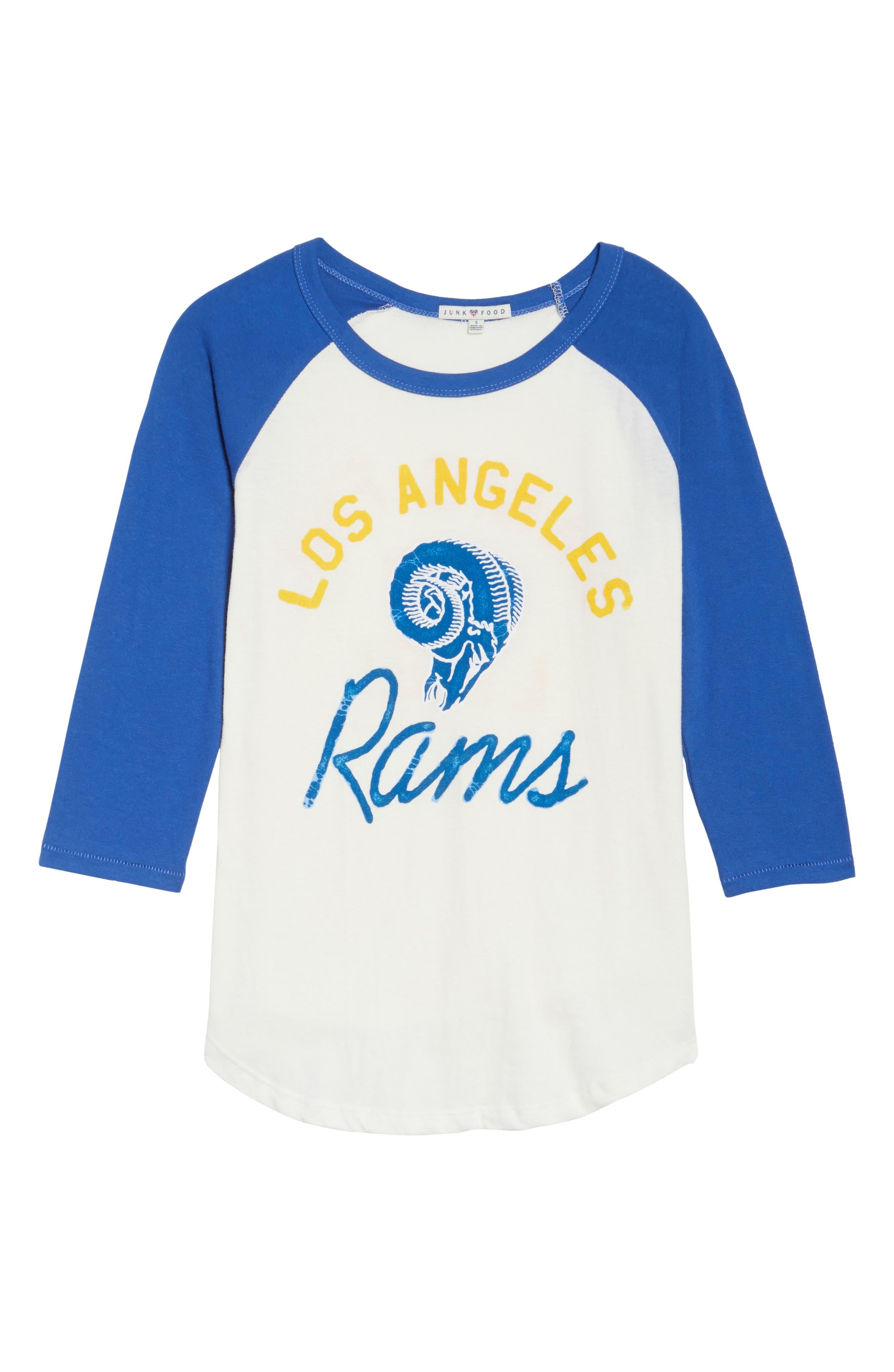 NFL Los Angeles Rams Raglan Tee,                             Alternate thumbnail 6, color,                             189