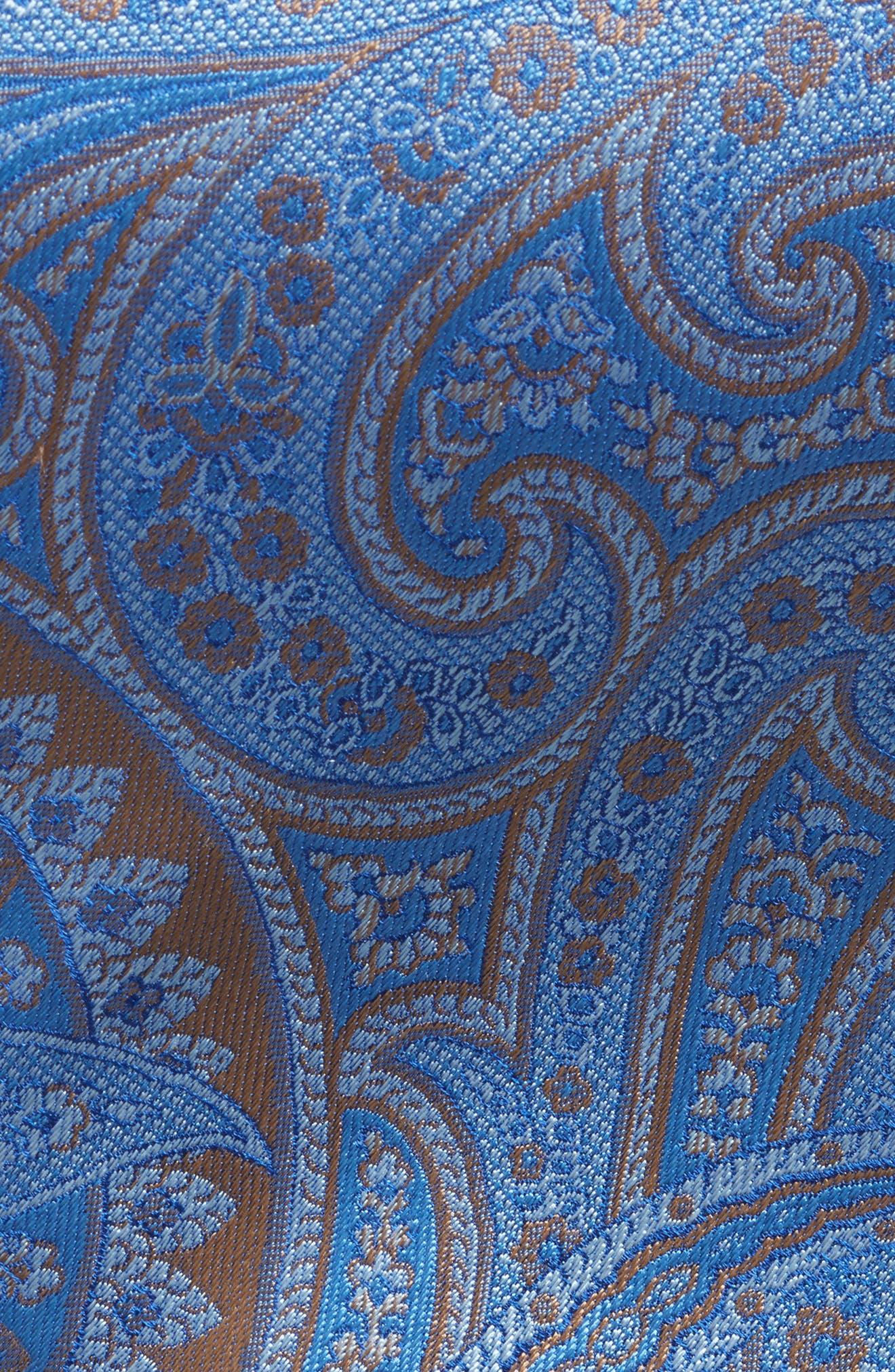 Paisley Silk Tie,                             Alternate thumbnail 2, color,                             430