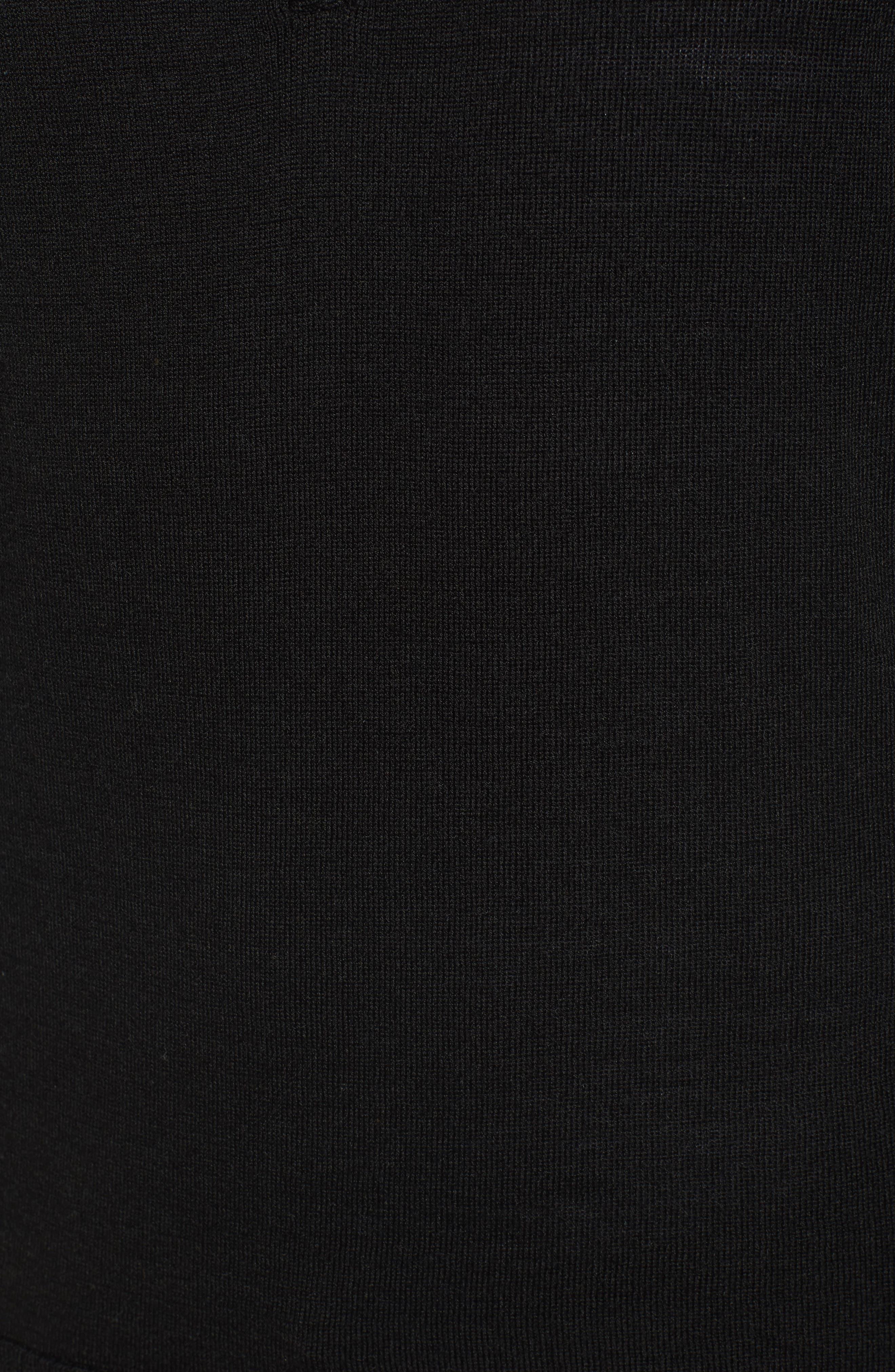 Kiva Ridge Merino Wool Blend Pullover,                             Alternate thumbnail 5, color,                             001