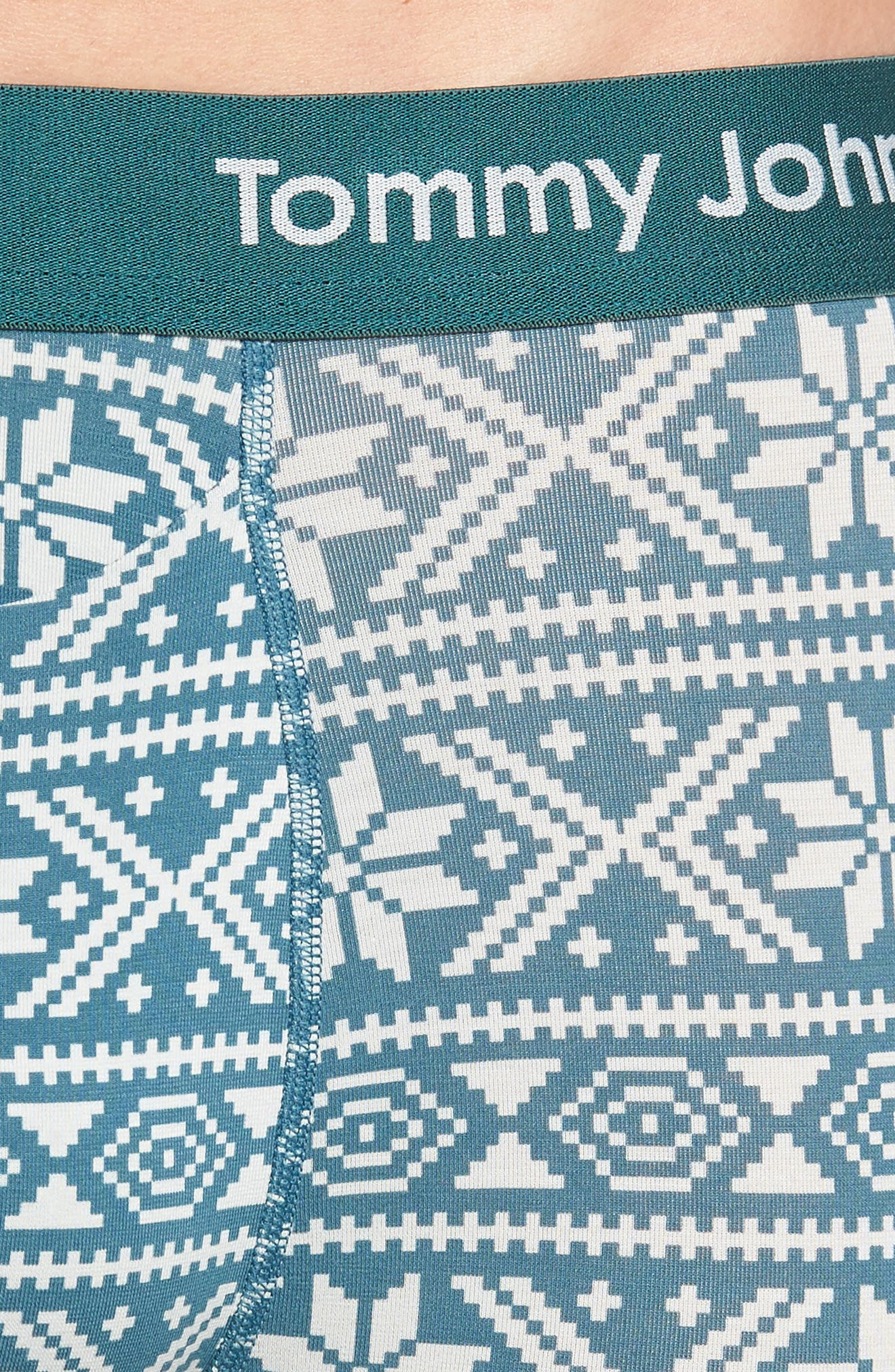 Cool Cotton Nordic Trunks,                             Alternate thumbnail 4, color,                             BALSAM