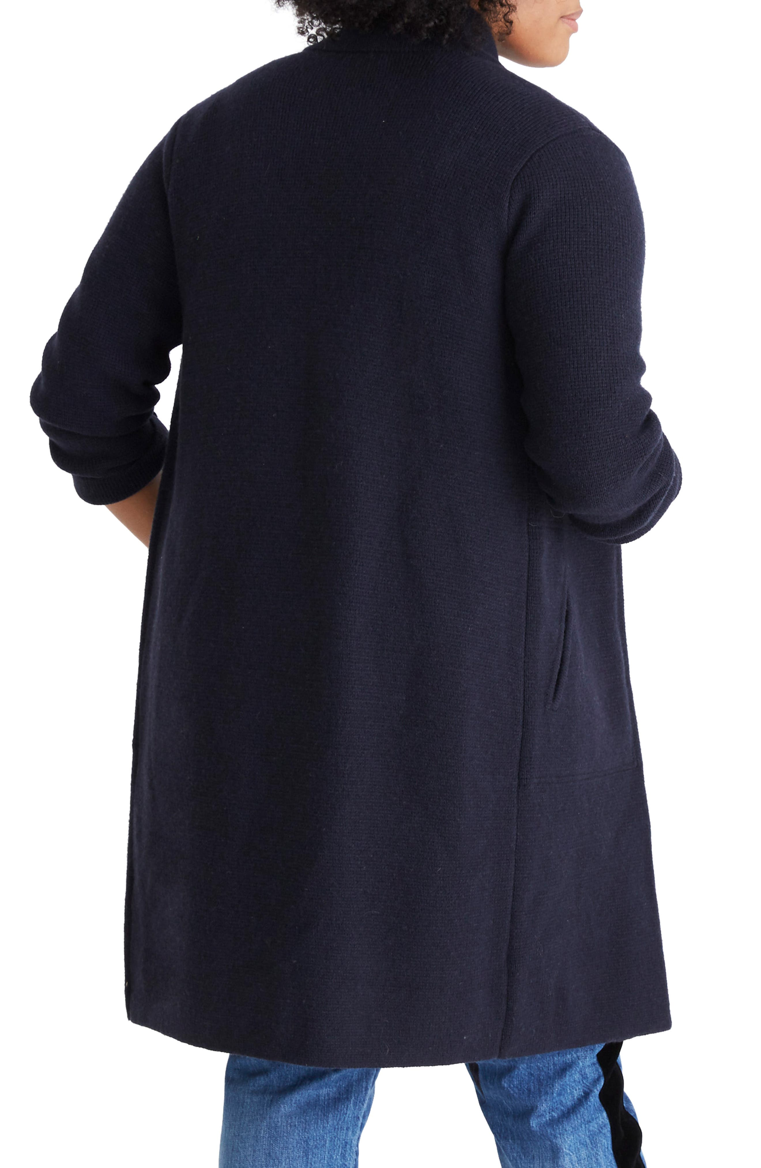 Double Breasted Sweater Coat,                             Alternate thumbnail 6, color,                             400