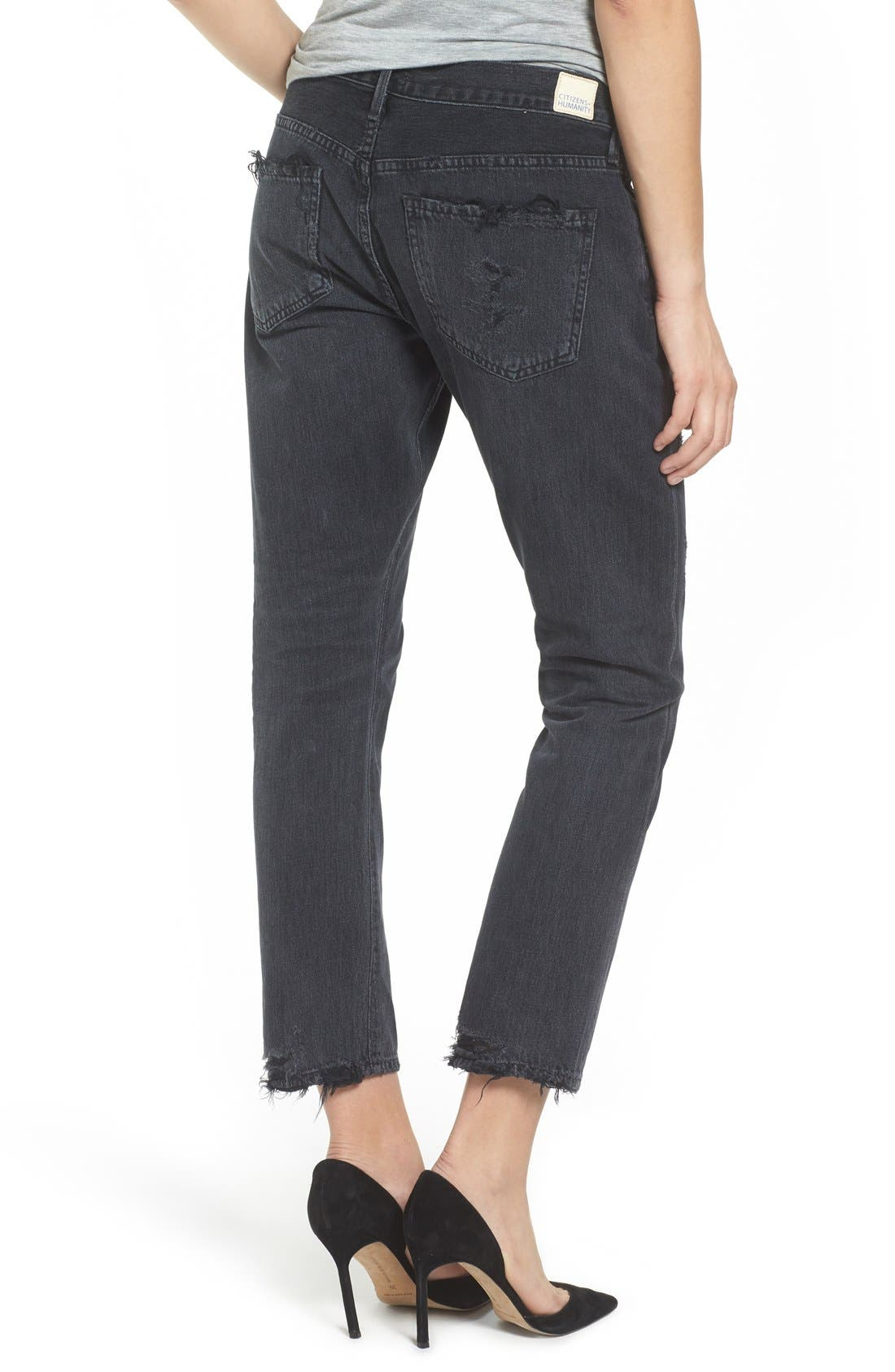 Emerson Slim Boyfriend Jeans,                             Alternate thumbnail 2, color,                             006