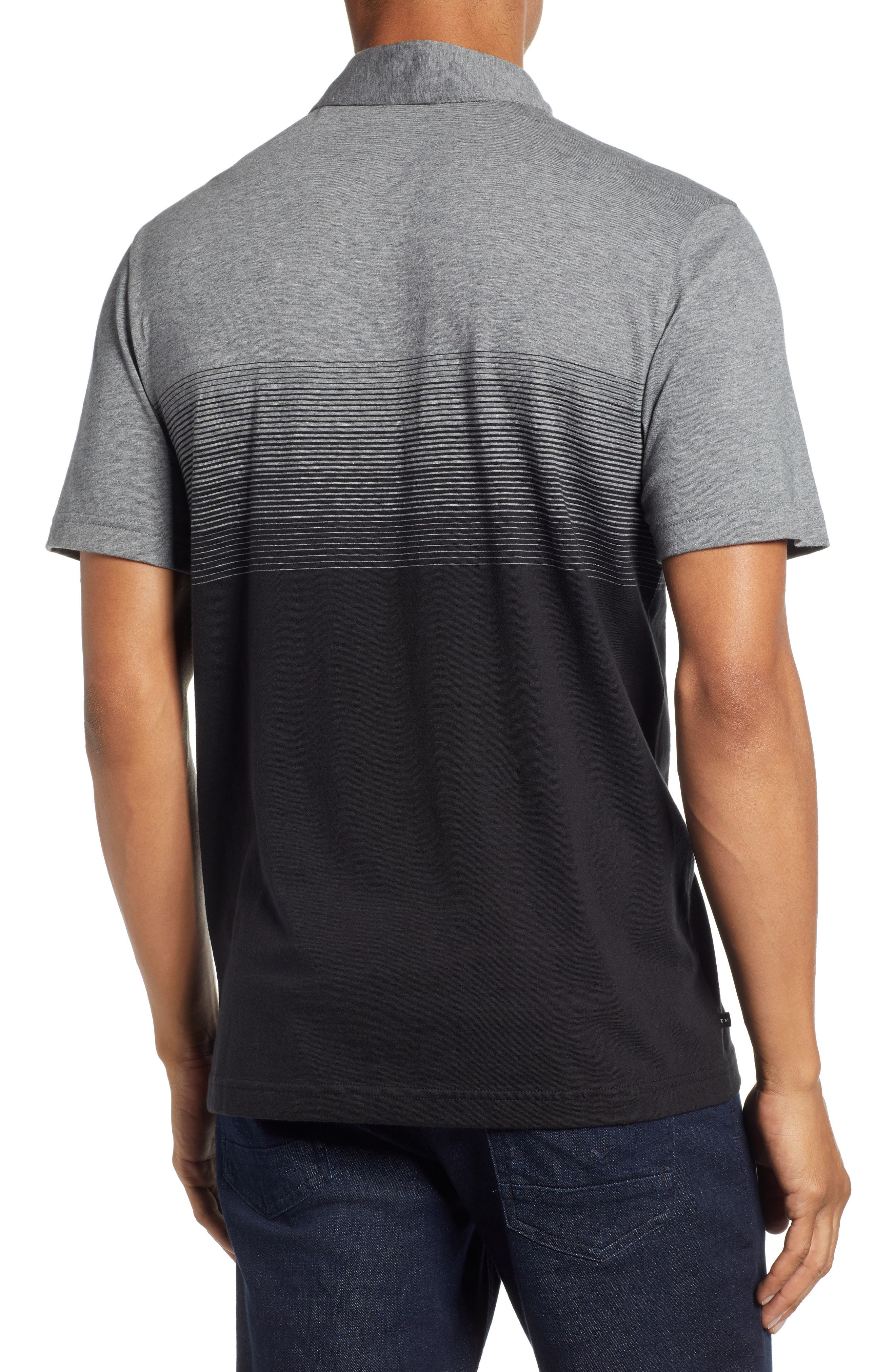 Smoothie Machine Short Sleeve Regular Fit Polo Shirt,                             Alternate thumbnail 2, color,                             BLACK