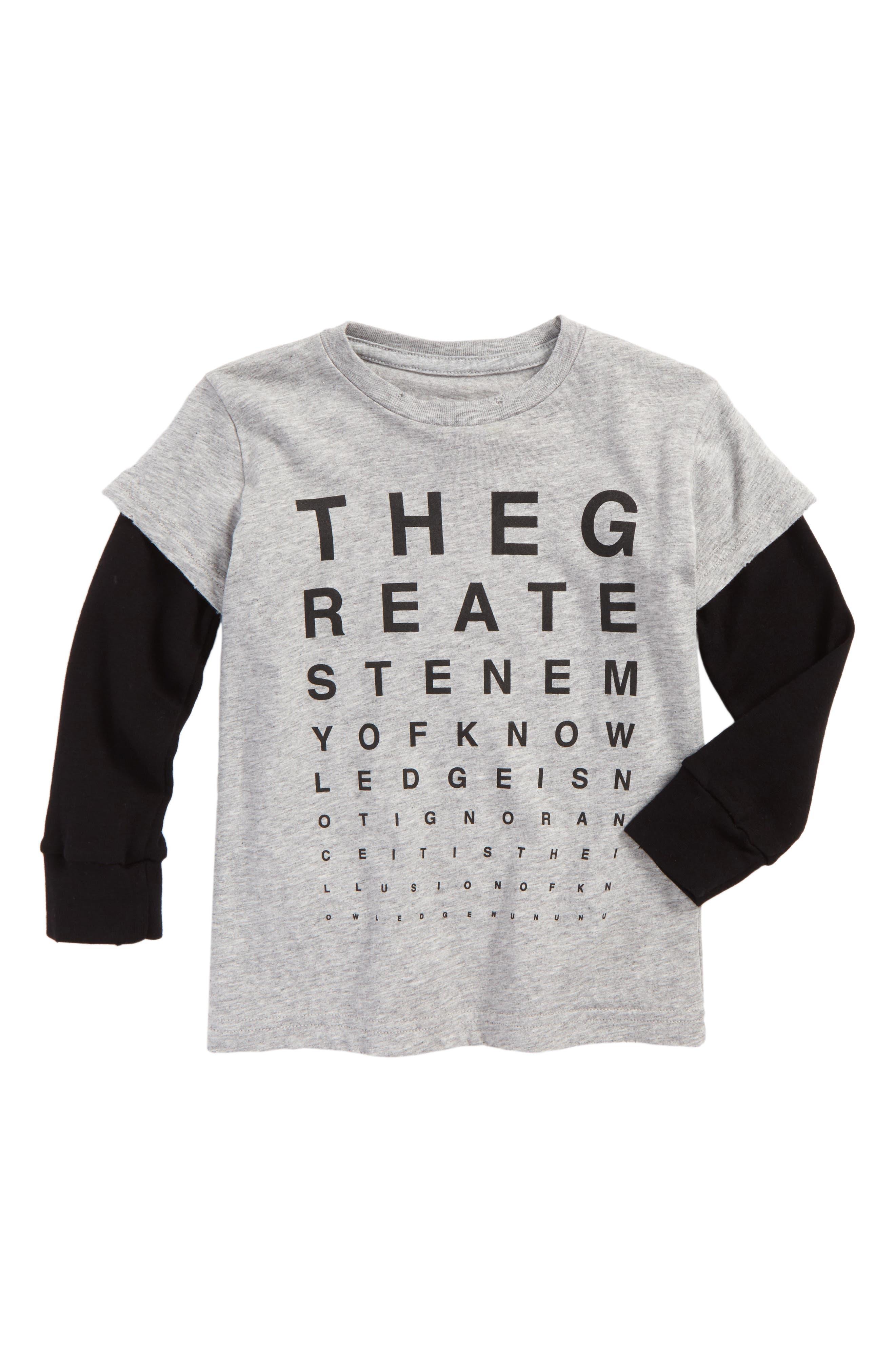 Vision Test Graphic T-Shirt,                         Main,                         color, 050