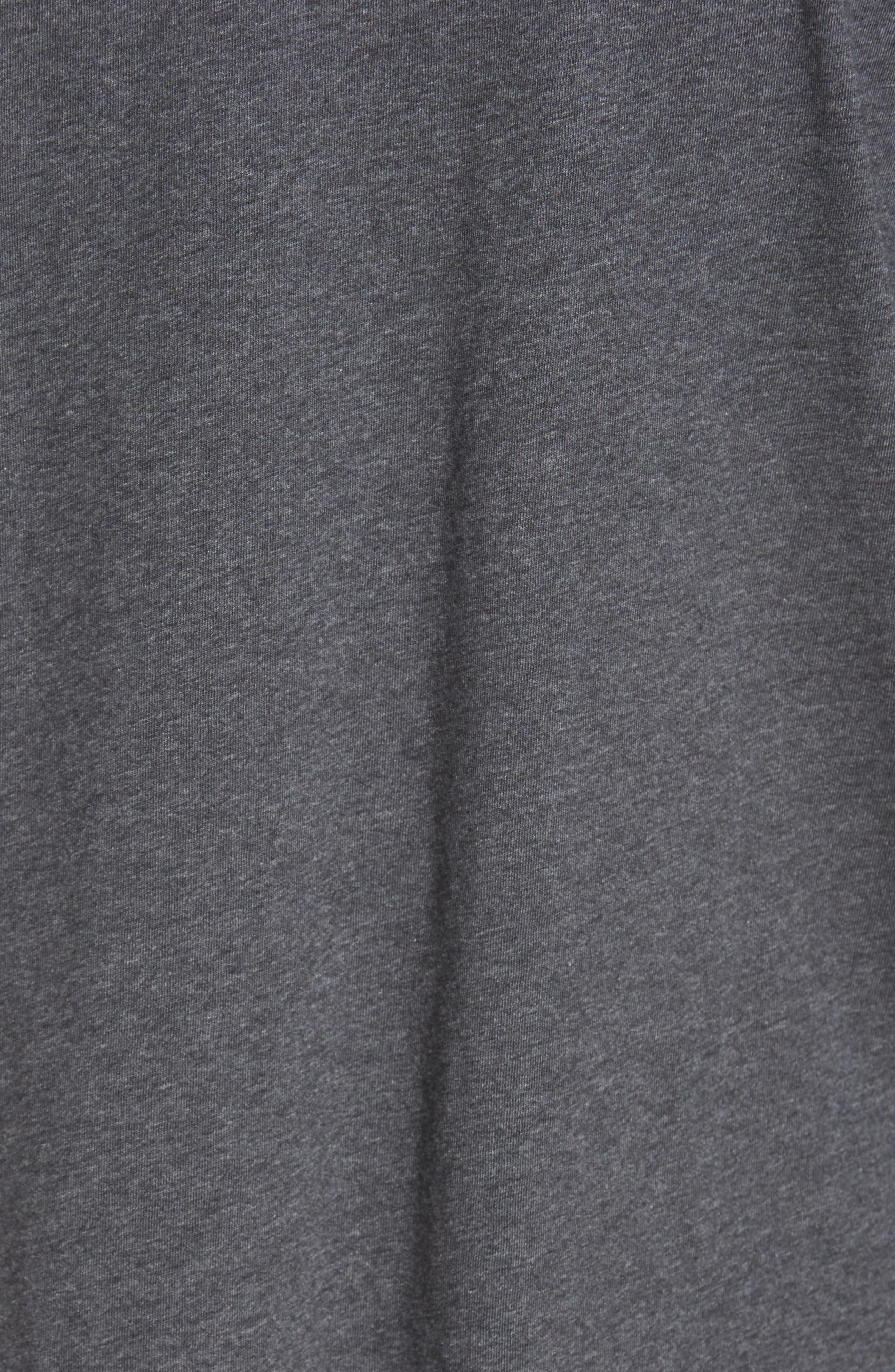 'New Bali Sky' Original Fit Crewneck Pocket T-Shirt,                             Alternate thumbnail 6, color,                             001