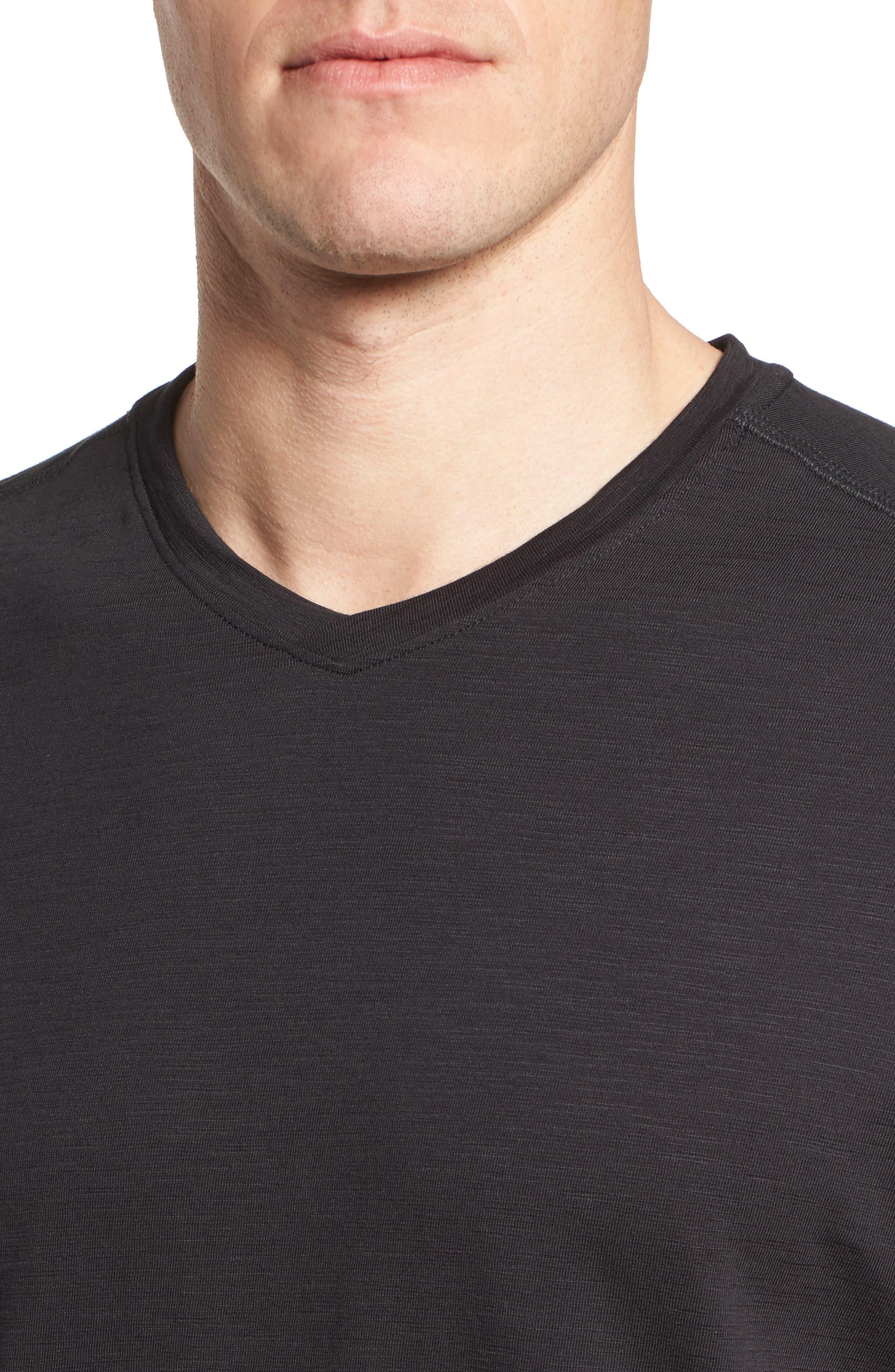 Portside Palms V-Neck T-Shirt,                             Alternate thumbnail 28, color,
