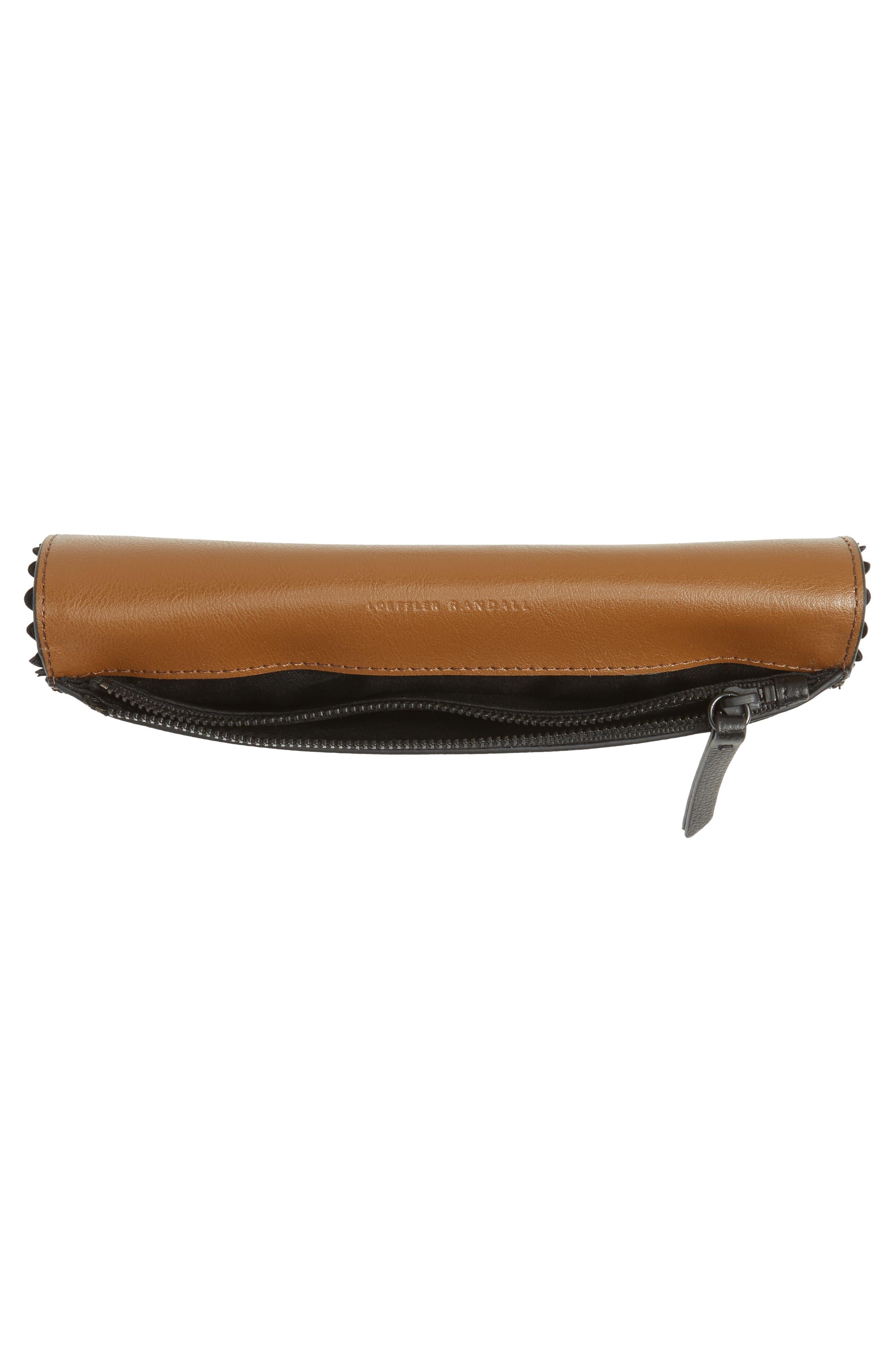 Eveything Embellished Leather Wallet,                             Alternate thumbnail 6, color,