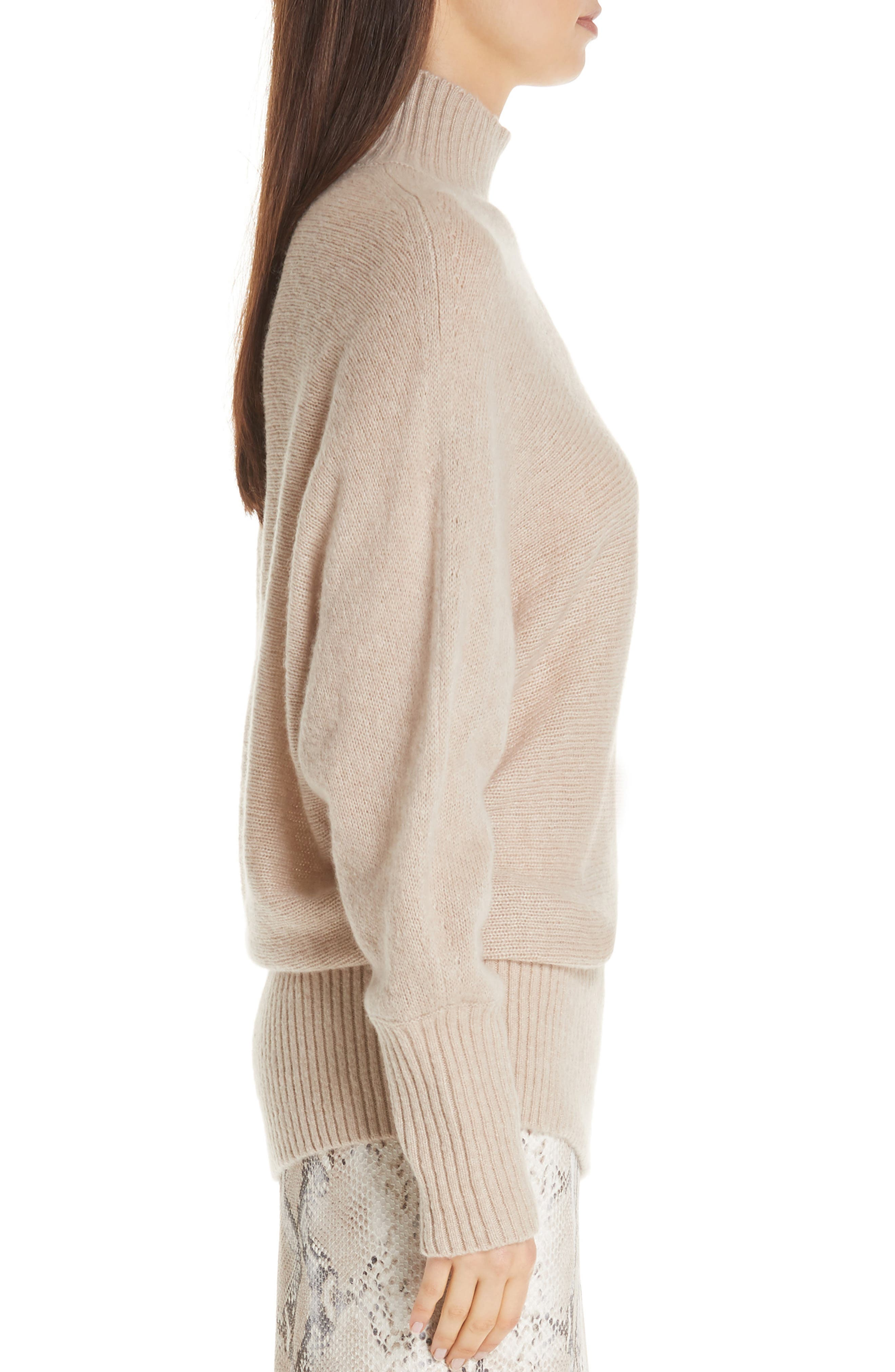 Cashmere Blend Dolman Sweater,                             Alternate thumbnail 3, color,                             250