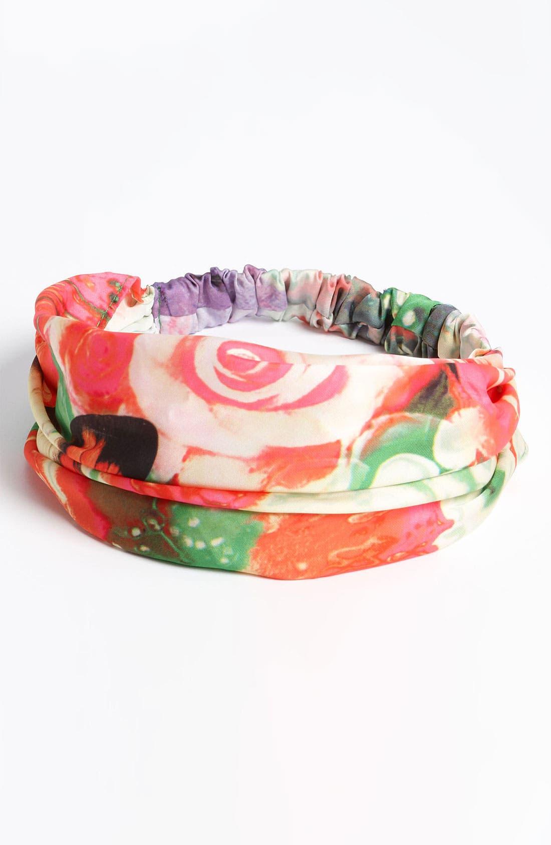 'Secret Garden' Head Wrap,                         Main,                         color, 300