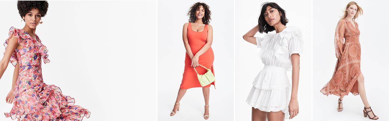 Dresses for every budget.