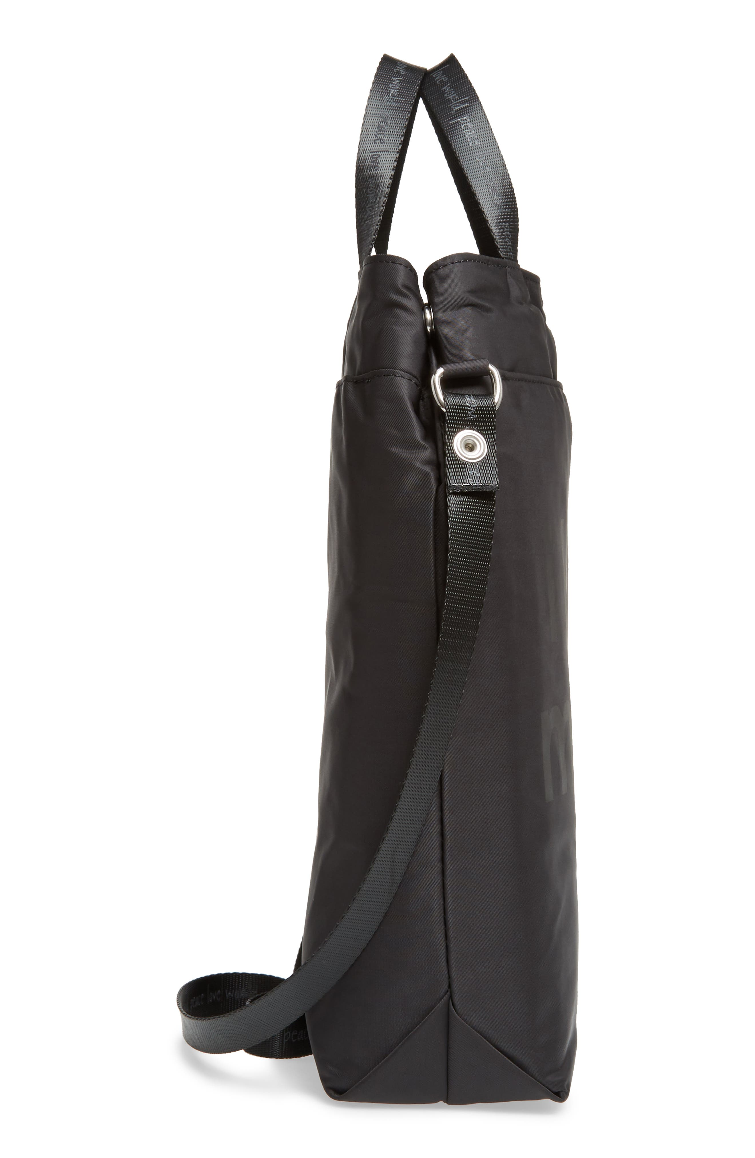 Insulated Wine Tote,                             Alternate thumbnail 5, color,                             001
