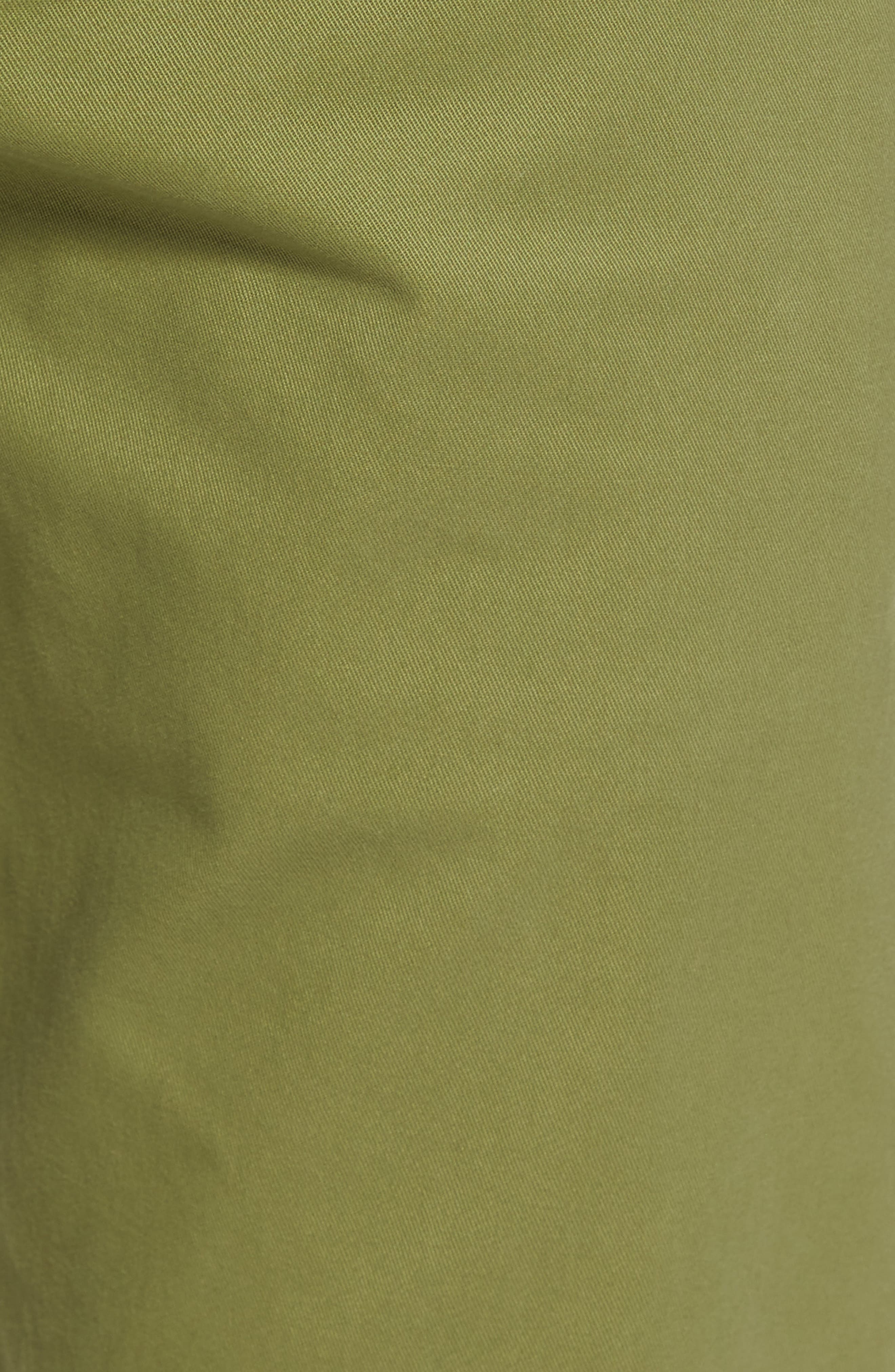 Tailored Fit Washed Stretch Cotton Chinos,                             Alternate thumbnail 147, color,