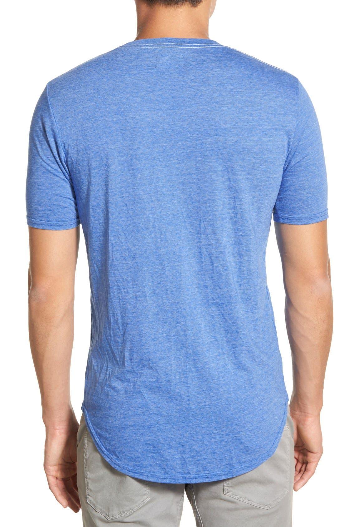 Scallop Triblend Crewneck T-Shirt,                             Alternate thumbnail 133, color,