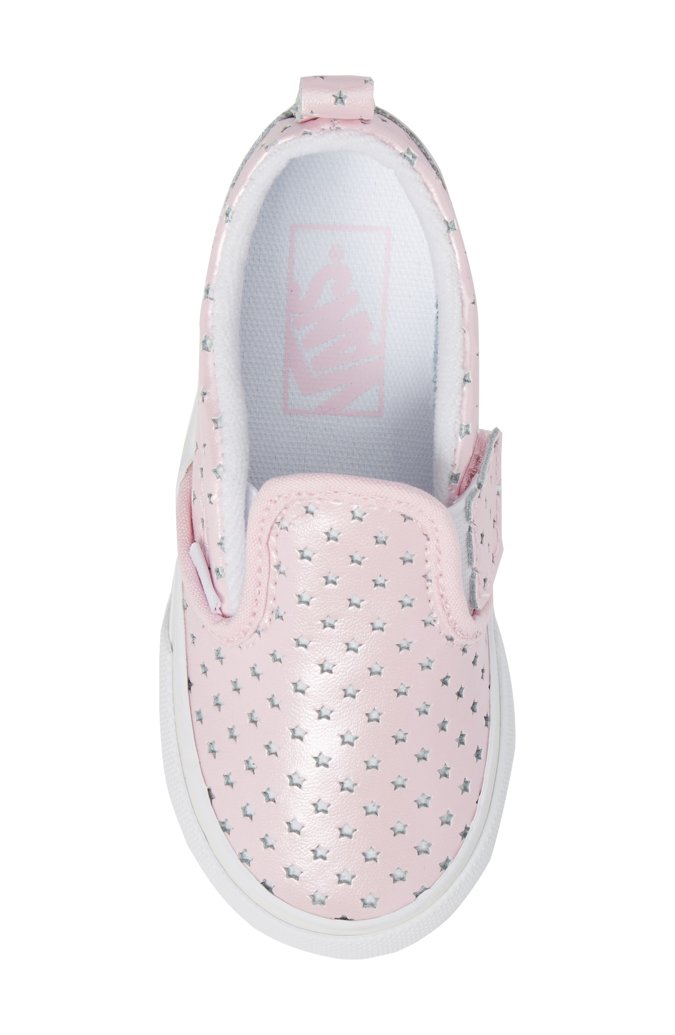 Classic Perforated Slip-On Sneaker,                             Alternate thumbnail 5, color,                             650