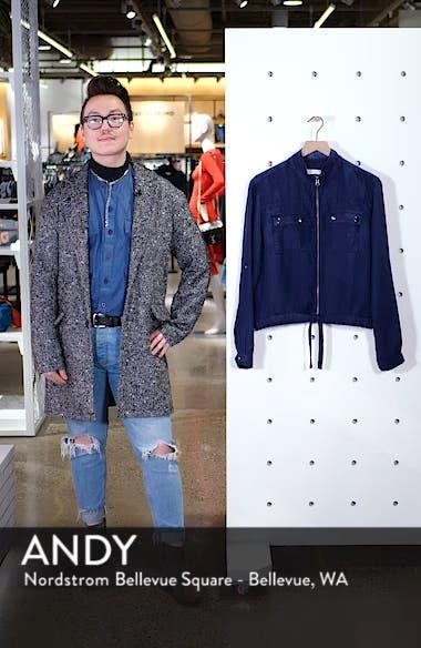 Linen Blend Field Jacket, sales video thumbnail