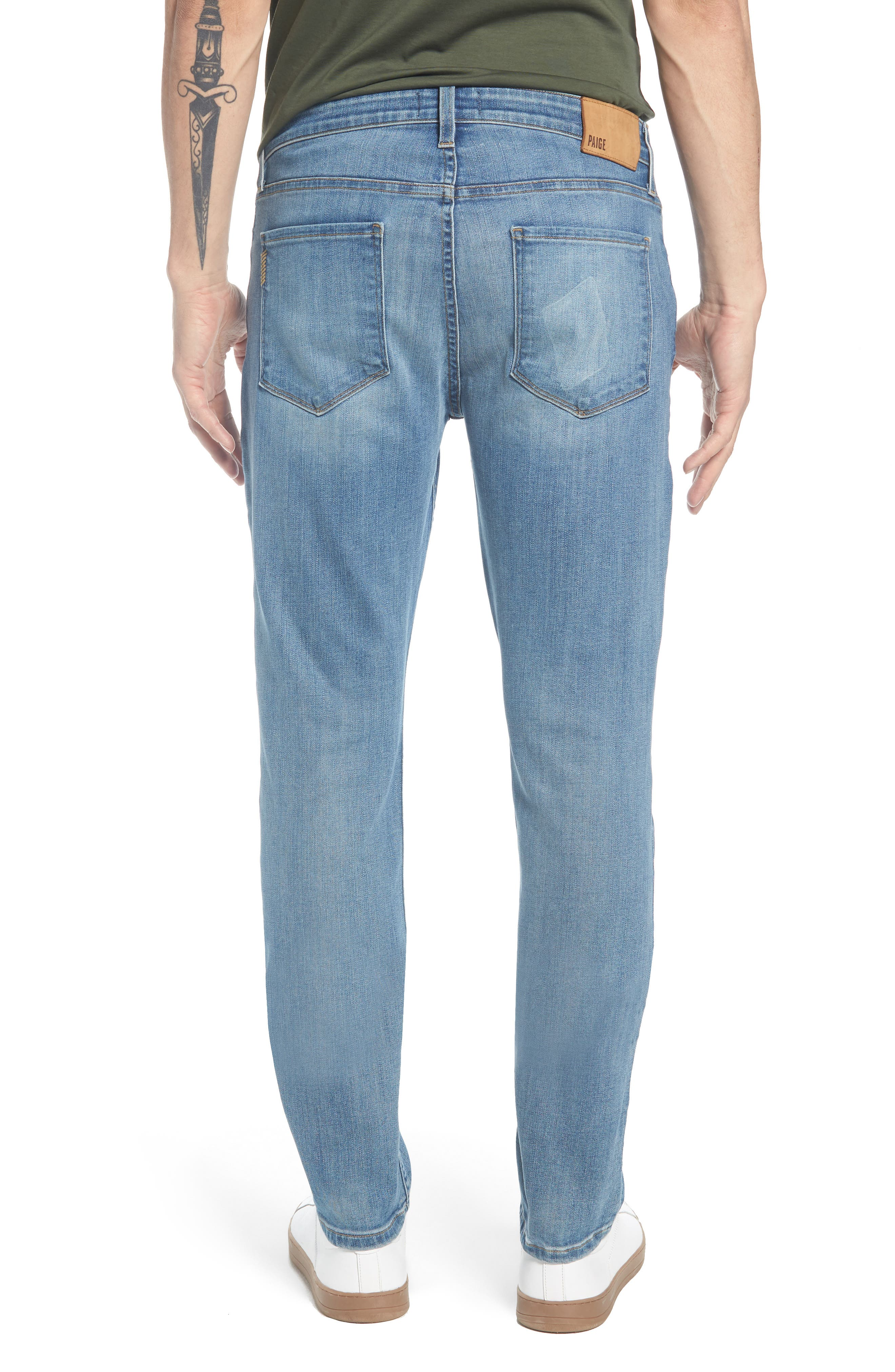 Transcend - Lennox Slim Fit Jeans,                             Alternate thumbnail 2, color,                             CARTWRIGHT
