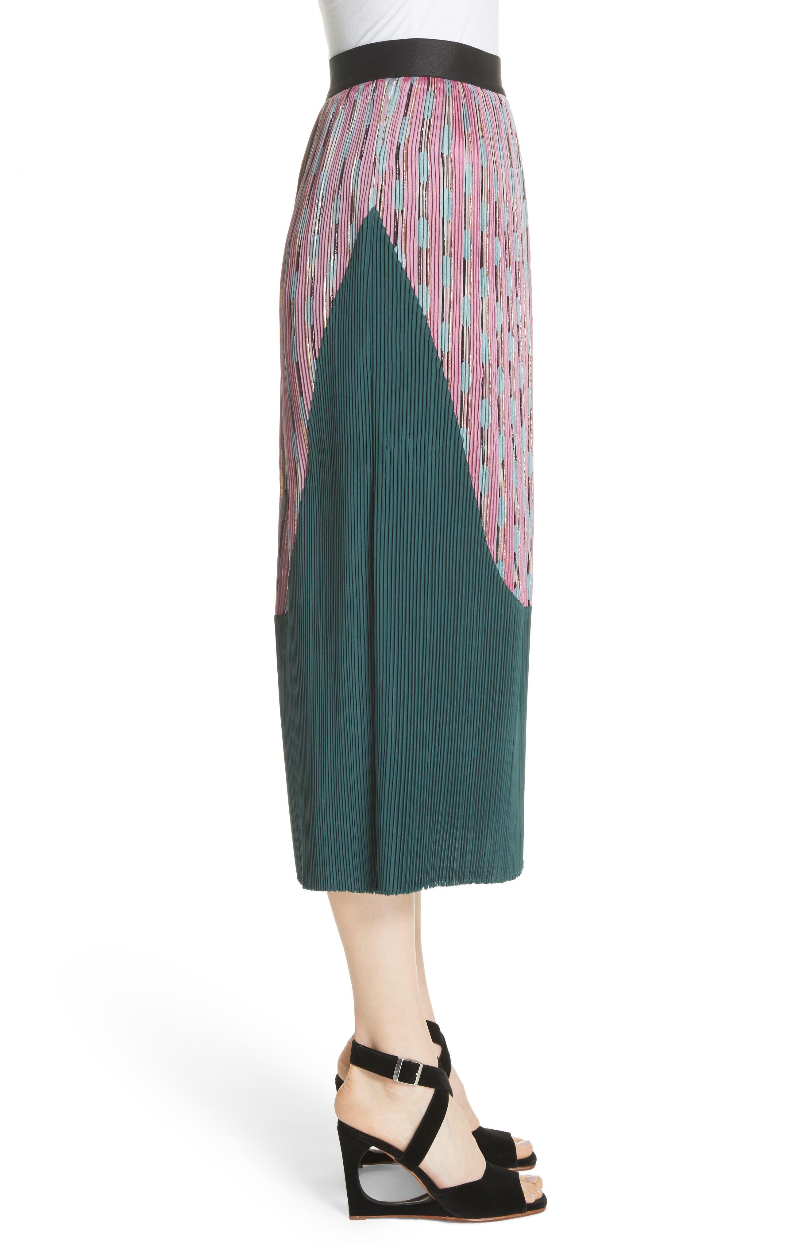 Ballista Midi Skirt,                             Alternate thumbnail 5, color,
