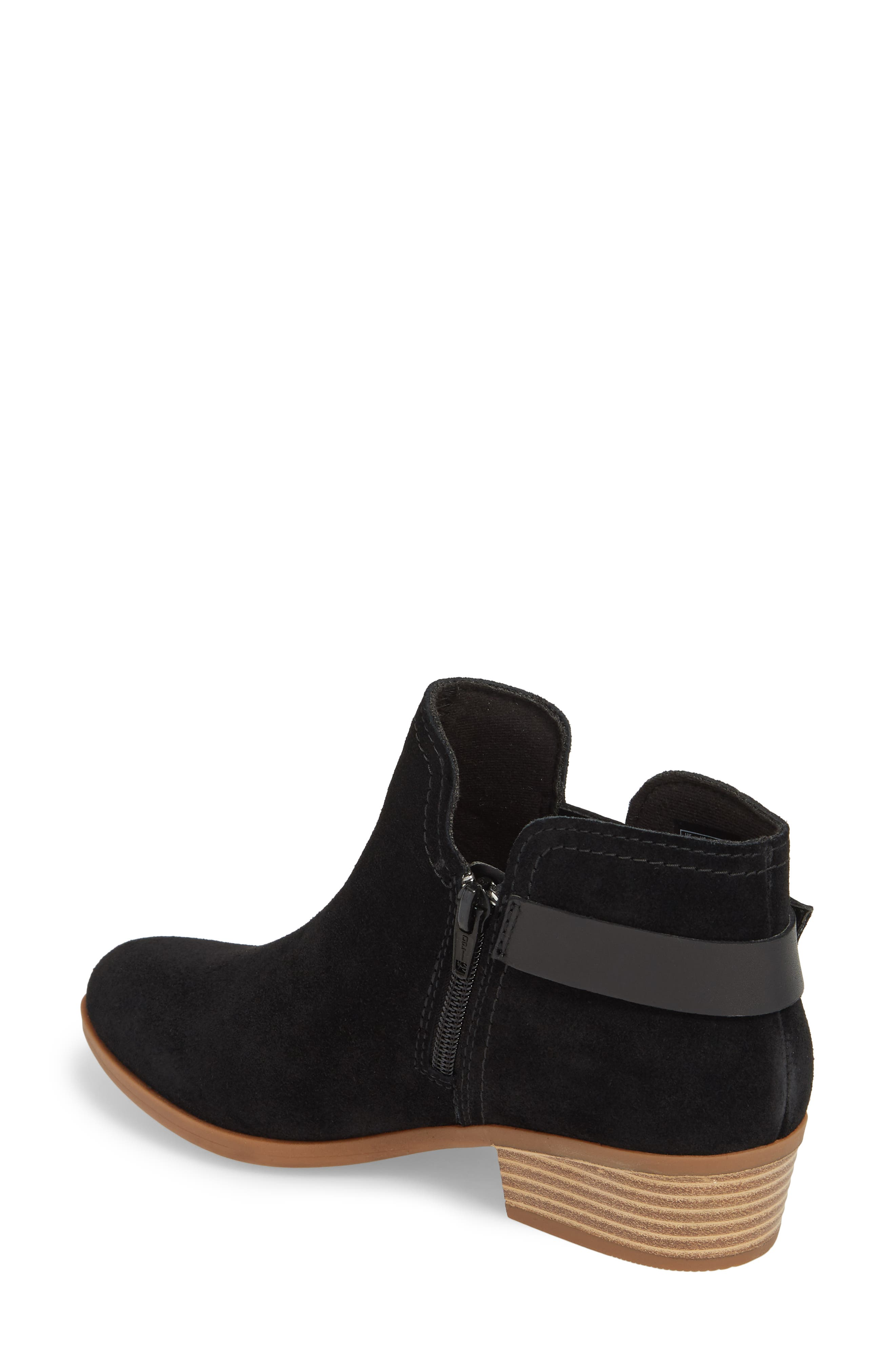 CLARKS<SUP>®</SUP>,                             Clark<sup>®</sup> Addiy Carisa Chelsea Boot,                             Alternate thumbnail 2, color,                             007