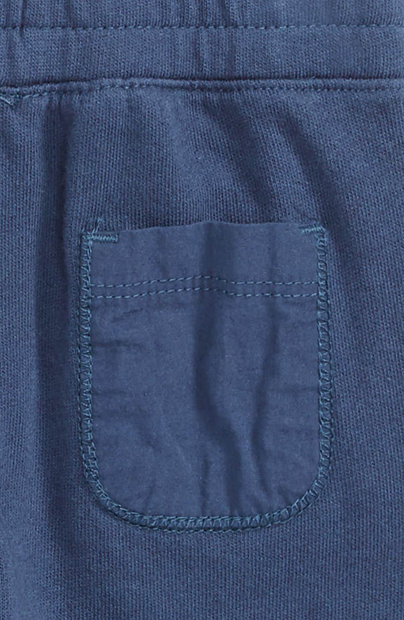 Stripe Henley T-Shirt & Pants Set,                             Alternate thumbnail 3, color,                             400