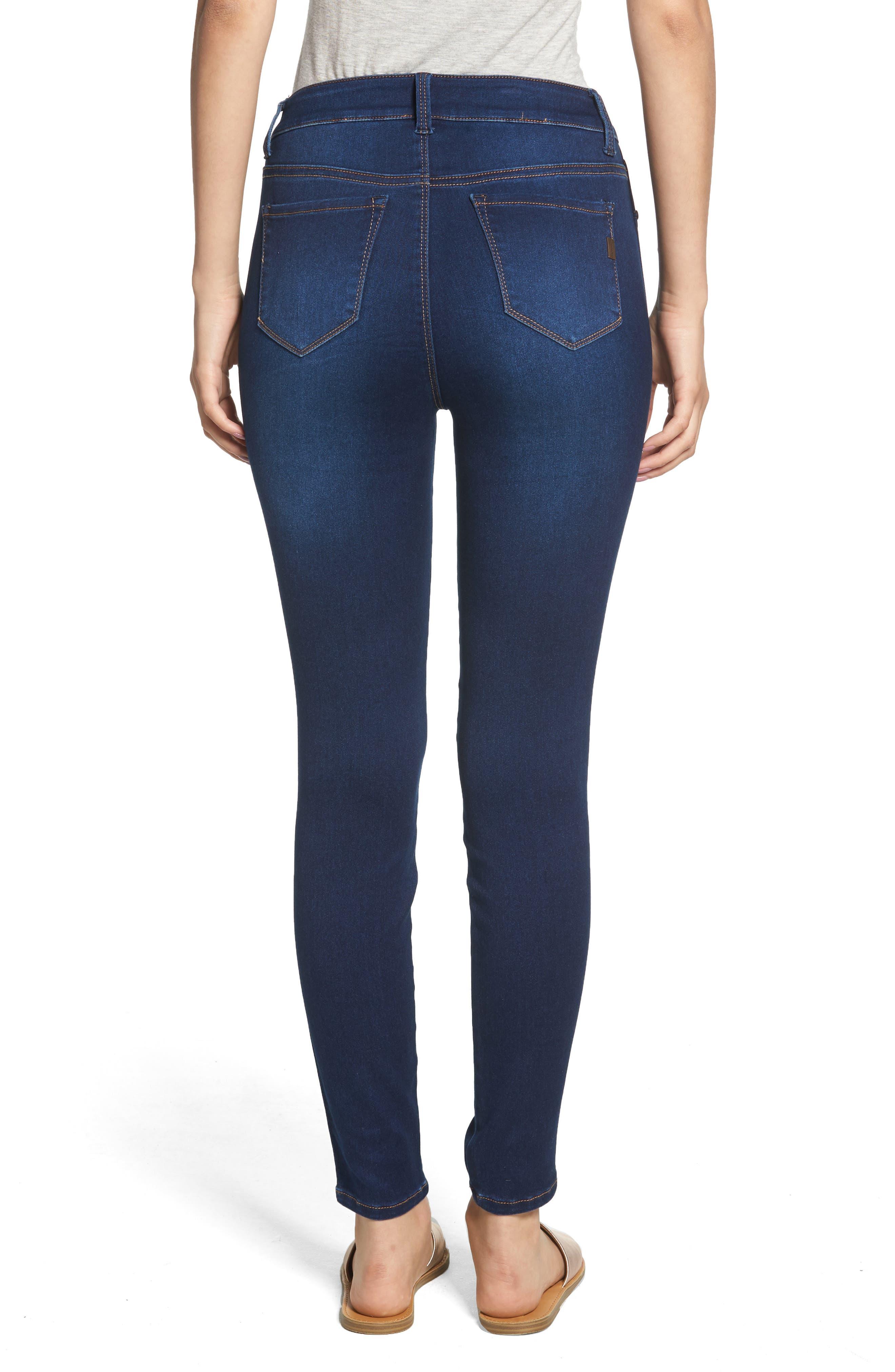 1822 DENIM,                             Butter High Rise Skinny Jeans,                             Alternate thumbnail 2, color,                             LENNOX
