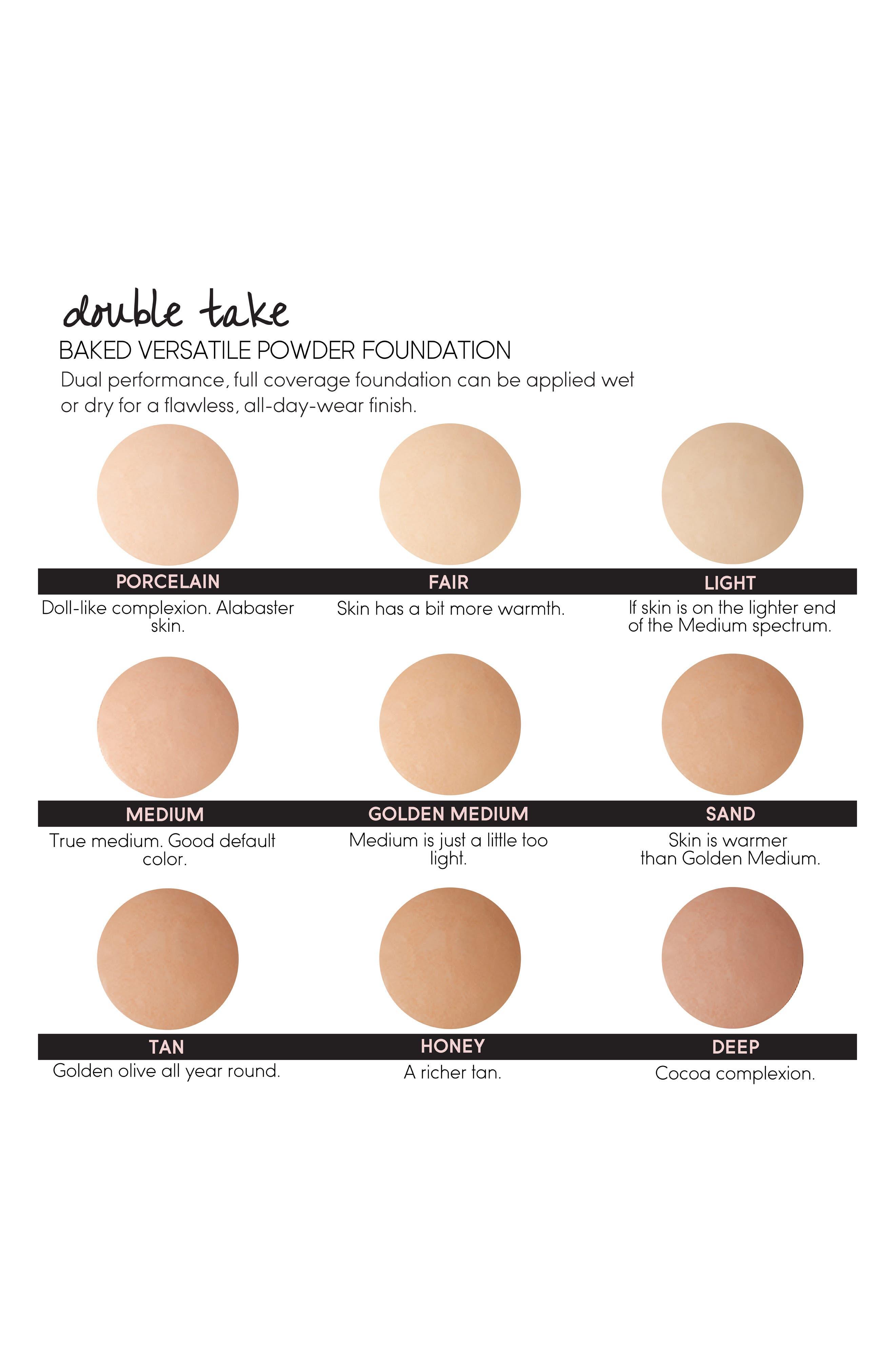 'Double Take' Baked Versatile Powder Foundation,                             Alternate thumbnail 2, color,                             TAN