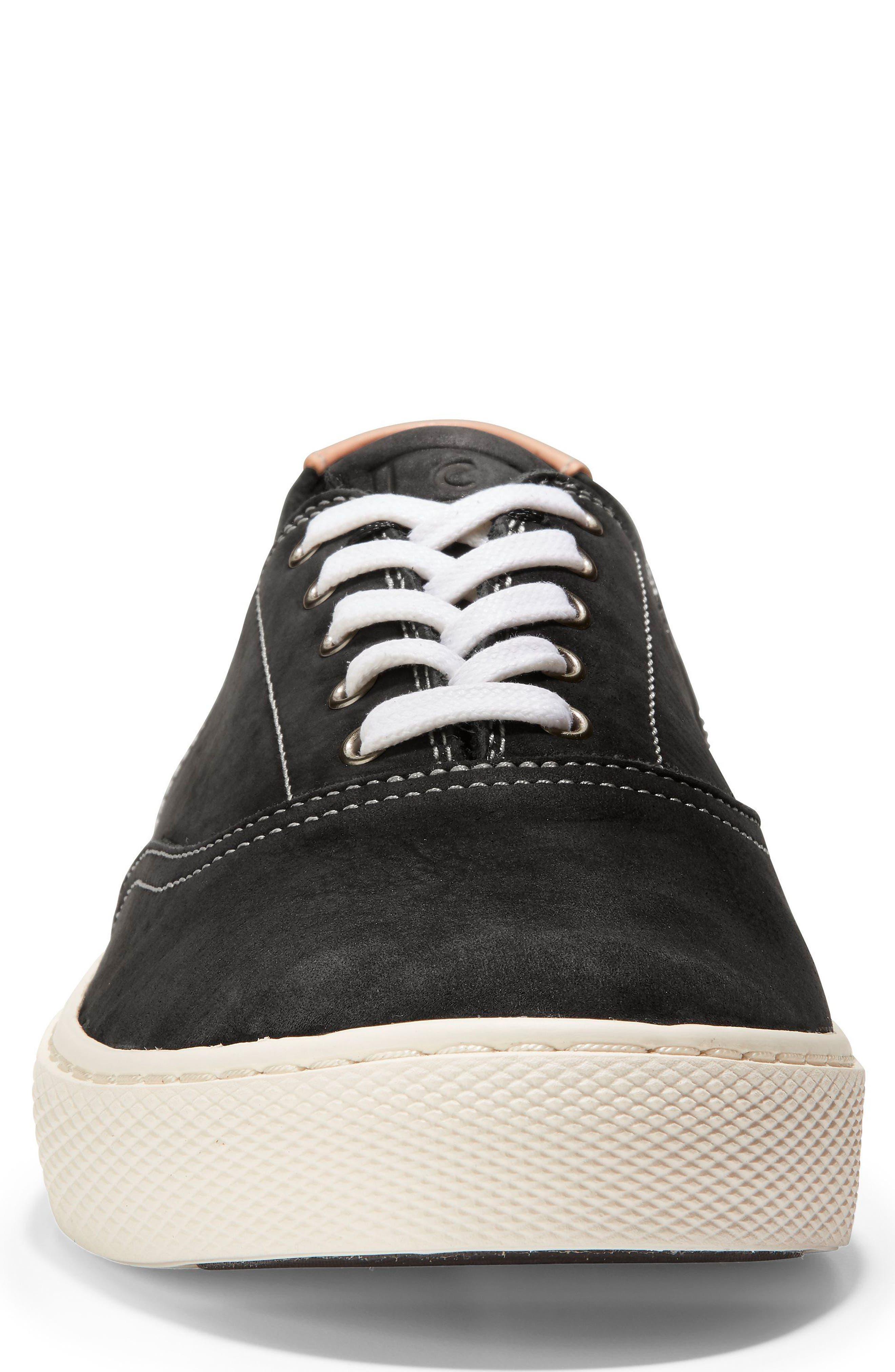GrandPro Deck Low Top Sneaker,                             Alternate thumbnail 4, color,                             001
