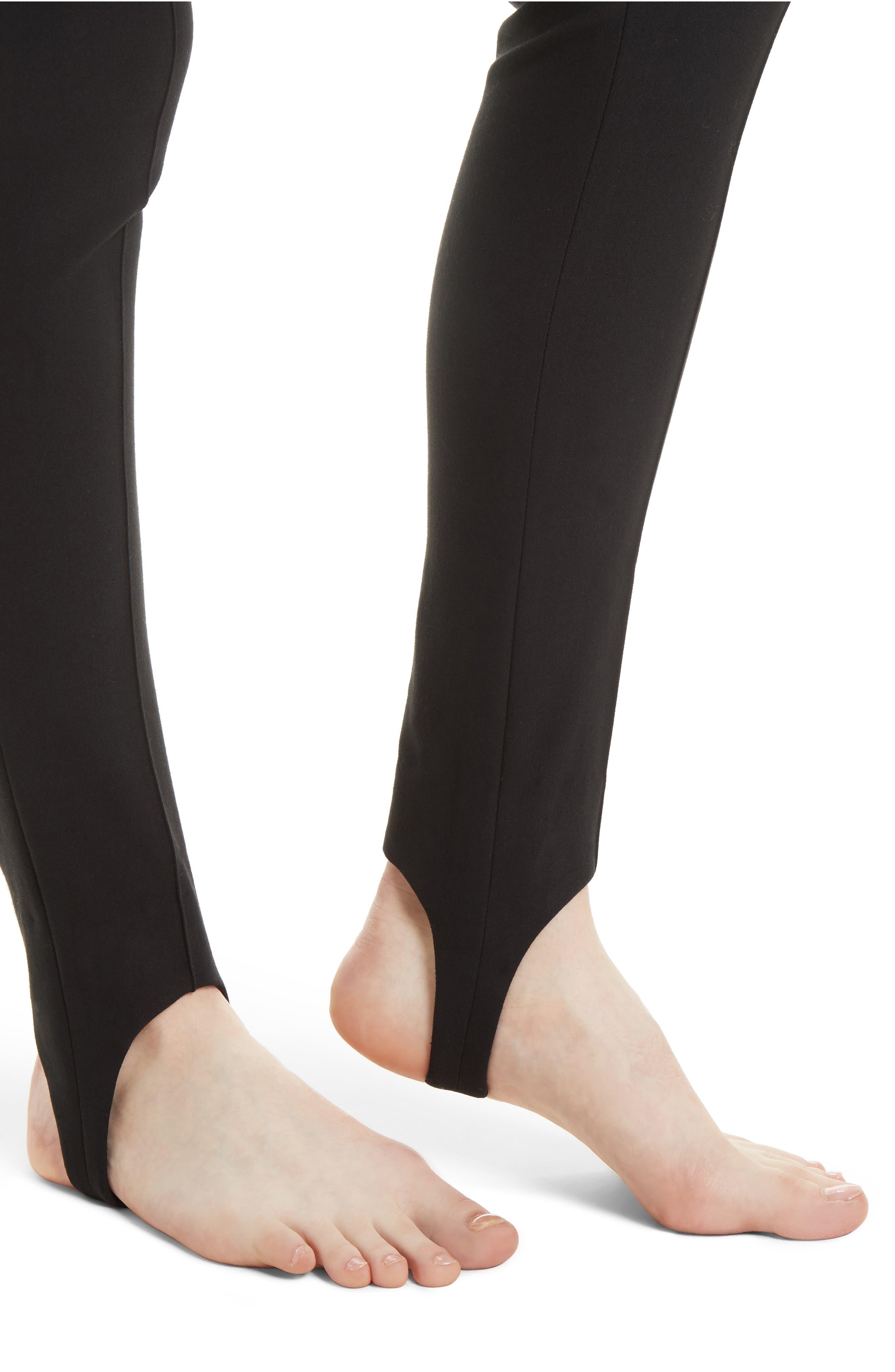 Stirrup Leggings,                             Alternate thumbnail 4, color,                             001