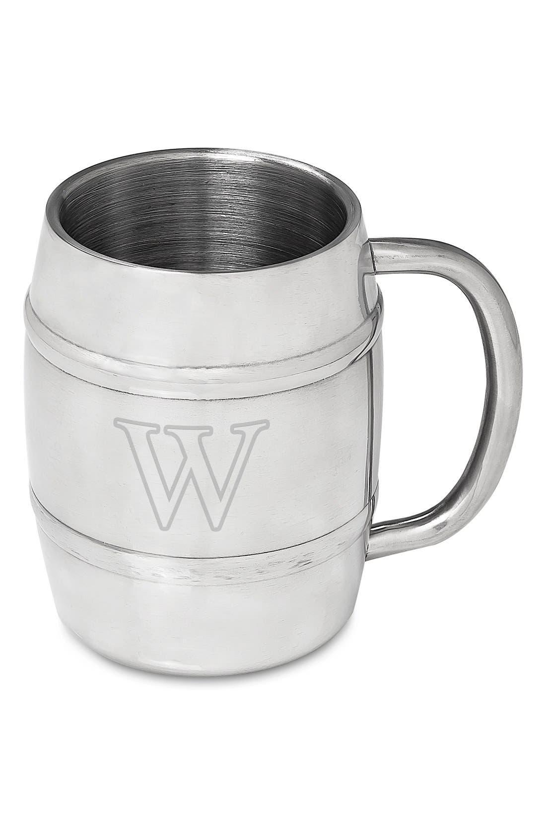 Monogram Stainless Steel Keg Mug,                             Alternate thumbnail 51, color,