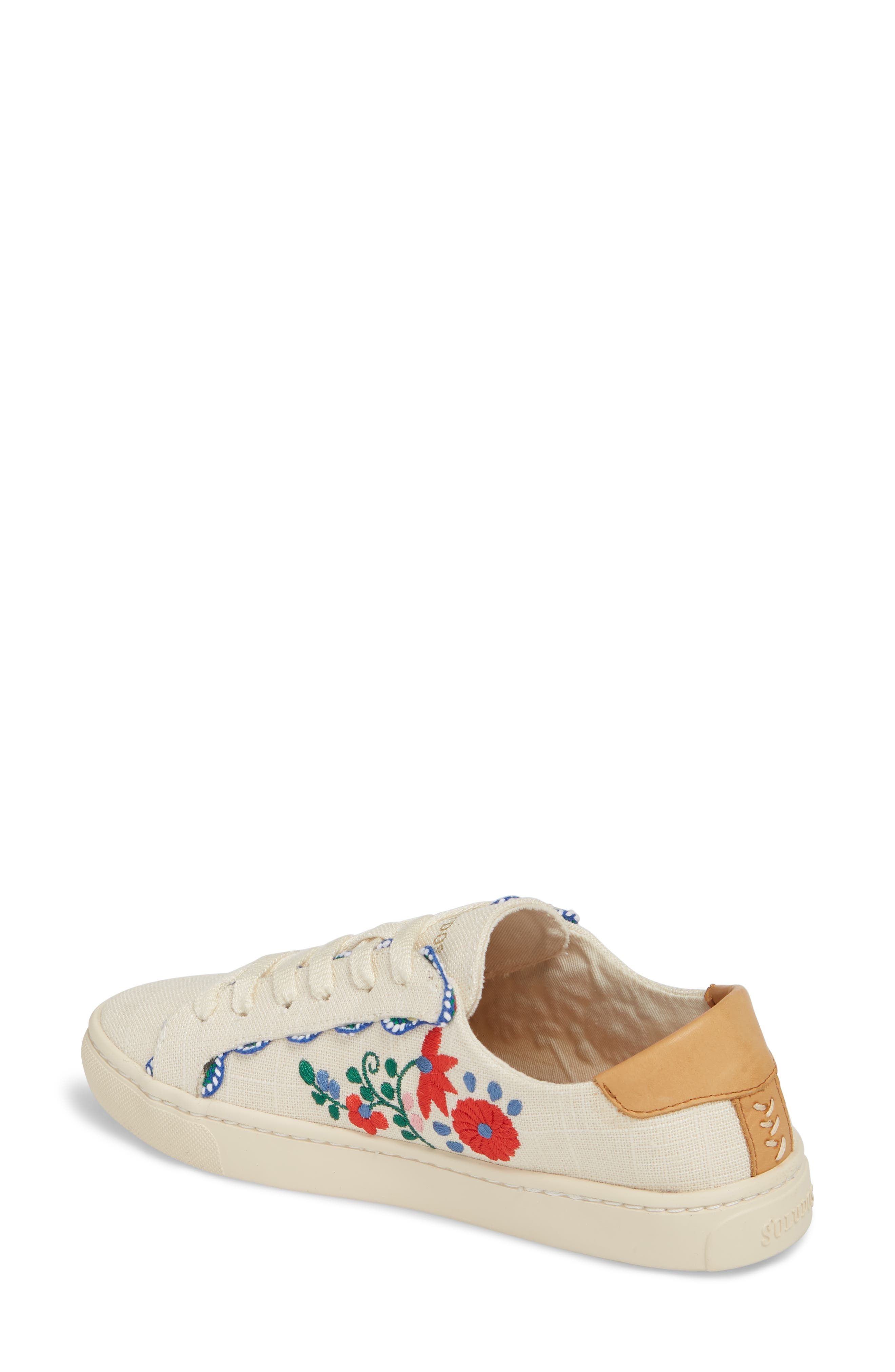 Ibiza Embroidered Sneaker,                             Alternate thumbnail 2, color,                             680
