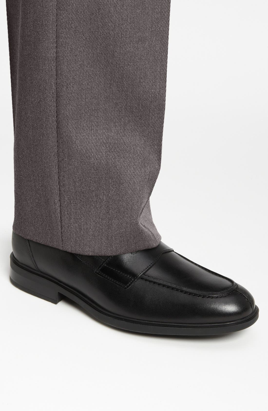 Fortino Loafer,                             Alternate thumbnail 11, color,                             001