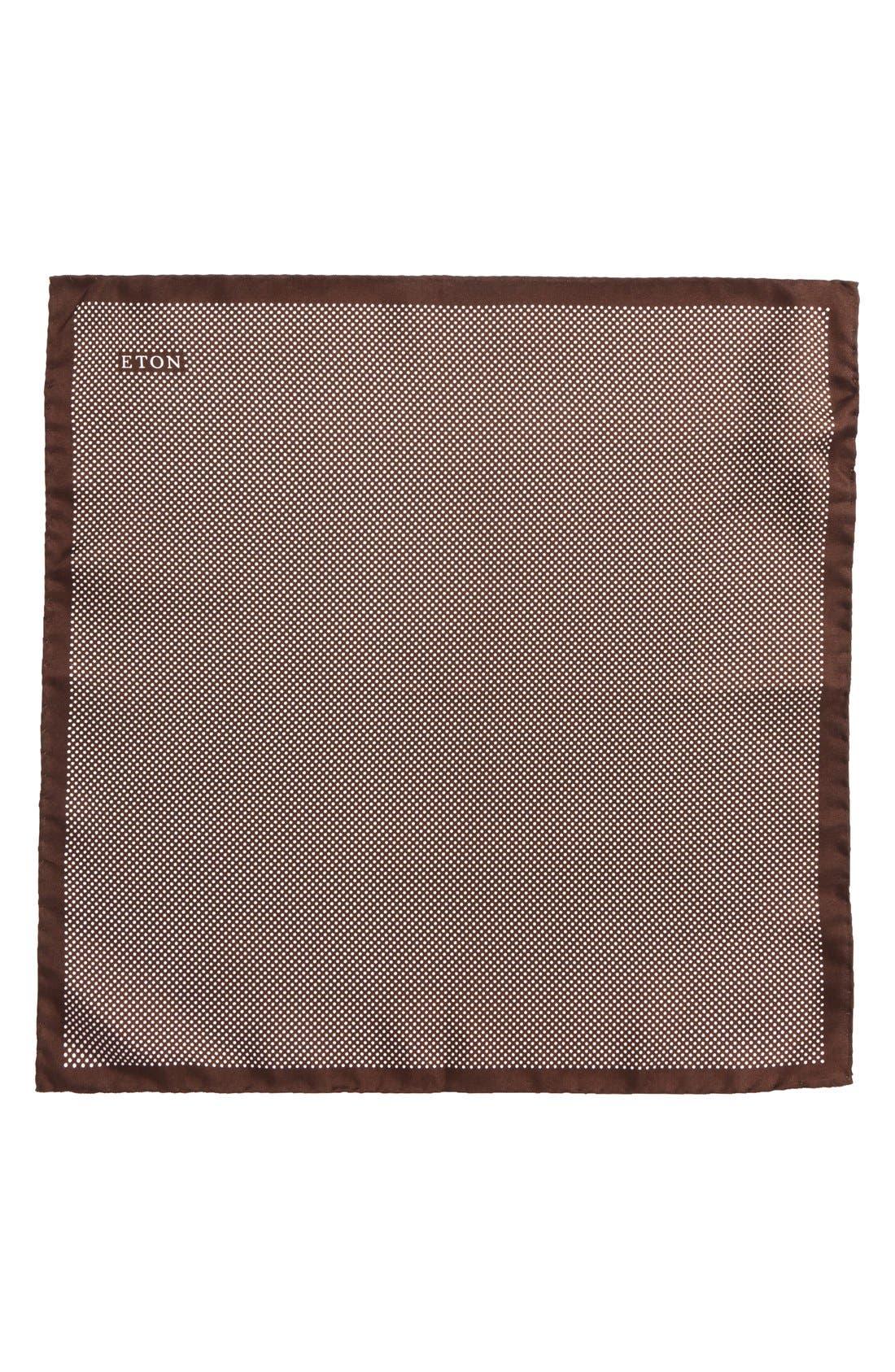 Dot Silk Pocket Square,                             Alternate thumbnail 17, color,