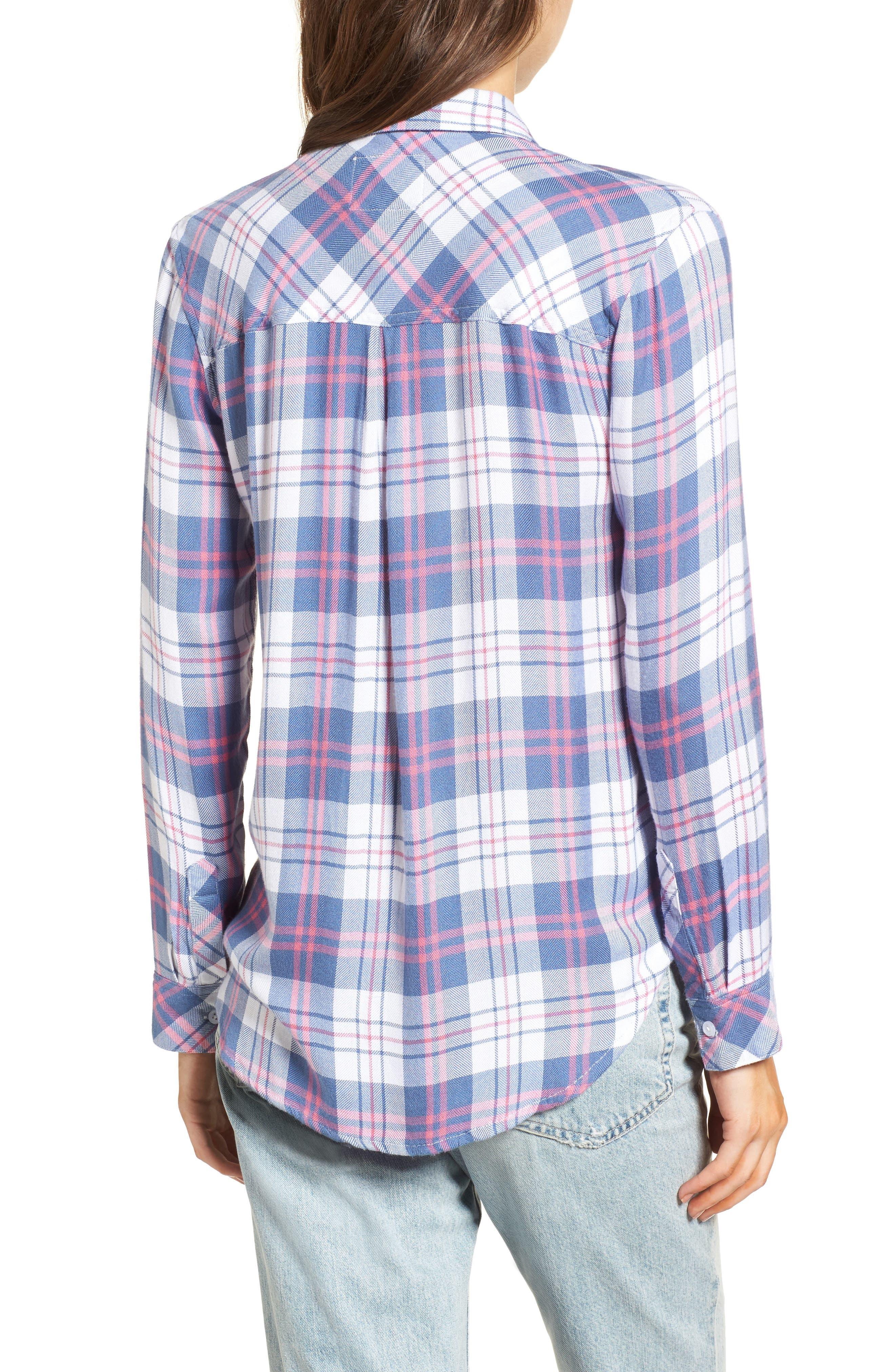 Hunter Plaid Shirt,                             Alternate thumbnail 197, color,